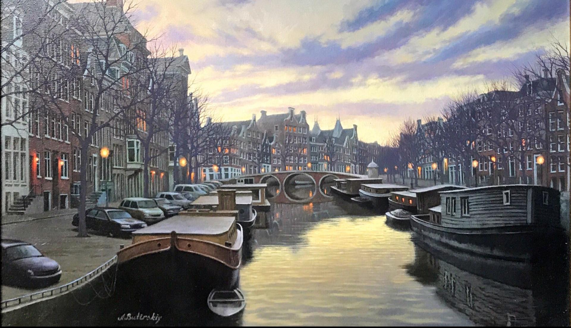 Twilight In Amsterdam by Alexei Butirskiy