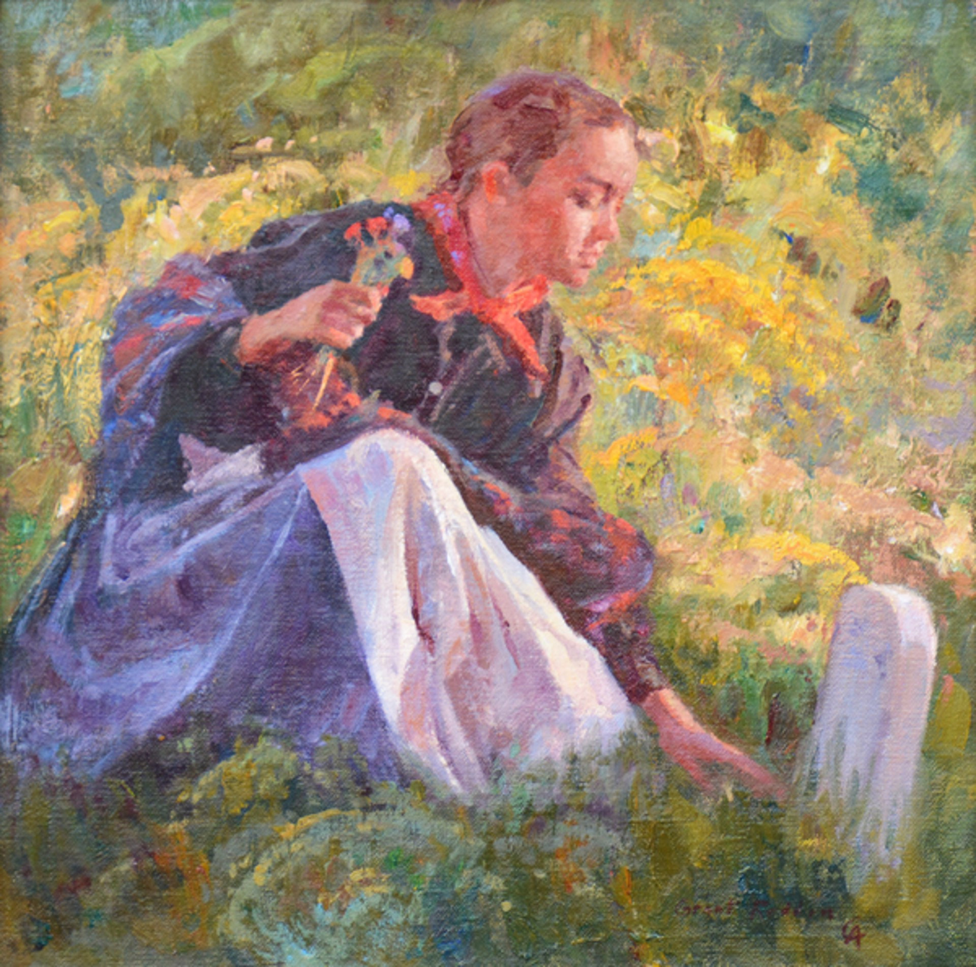 Pioneer Girl by Grant Redden
