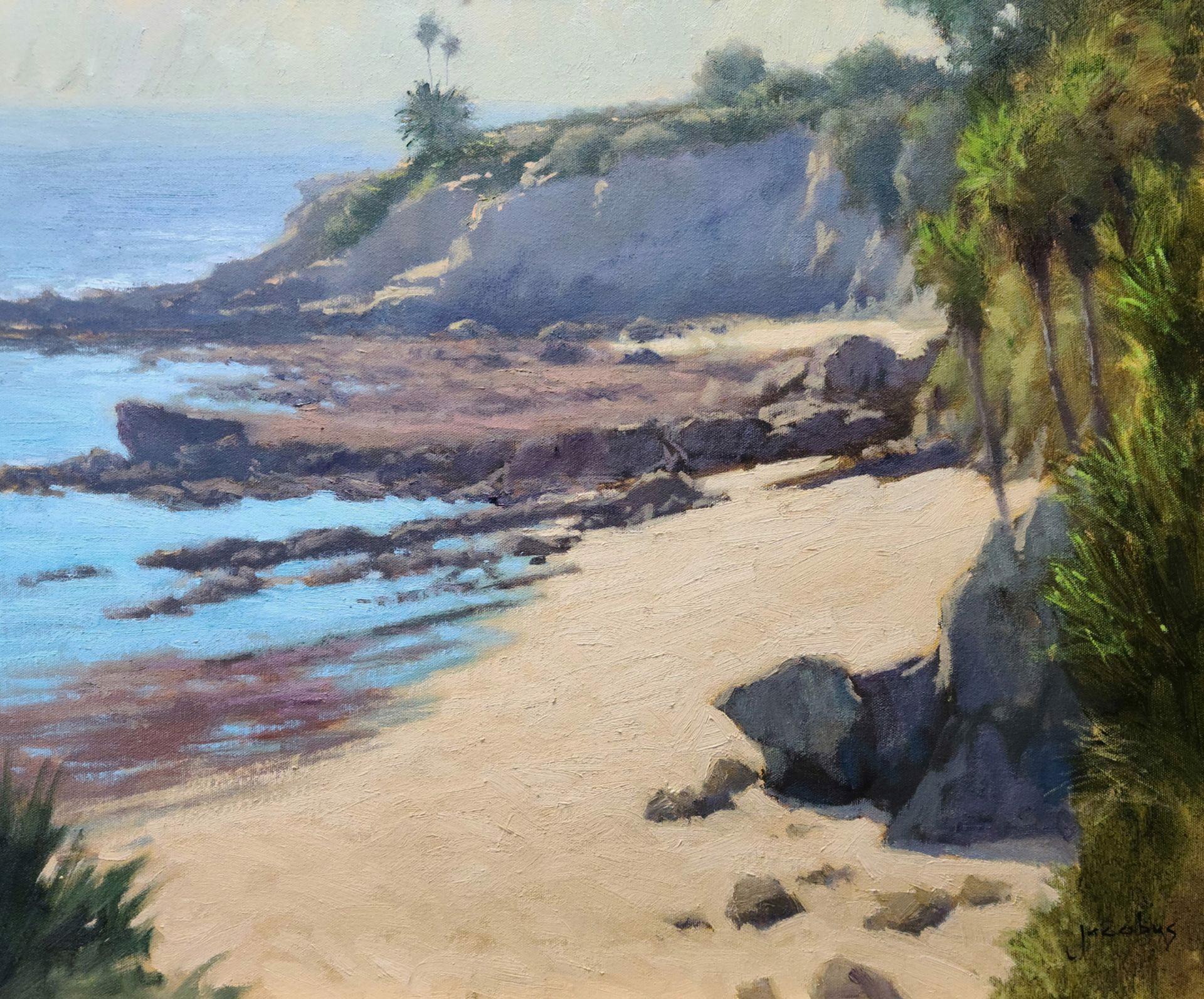 Sunlit Beach, Heisler by Jacobus Baas