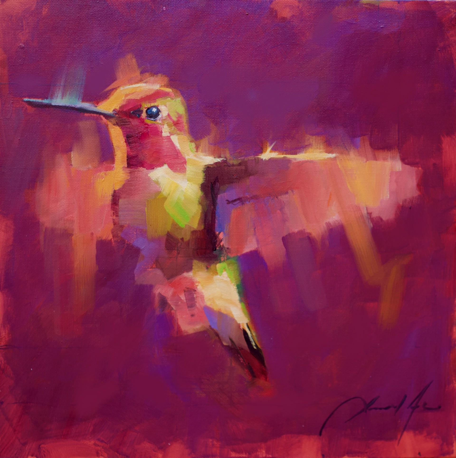 Hummingbird XV by Jamel Akib