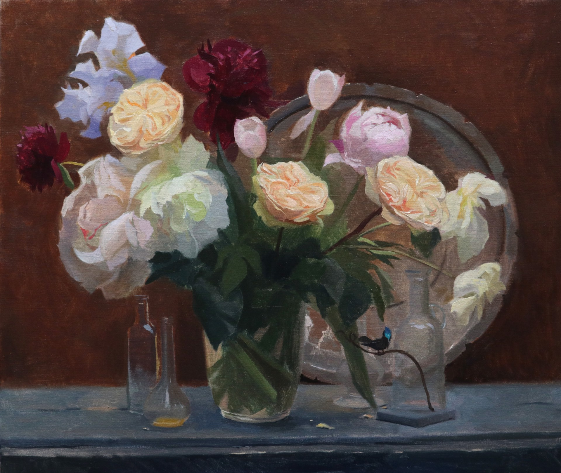 Of Roses and Peonies by Tanvi Pathare