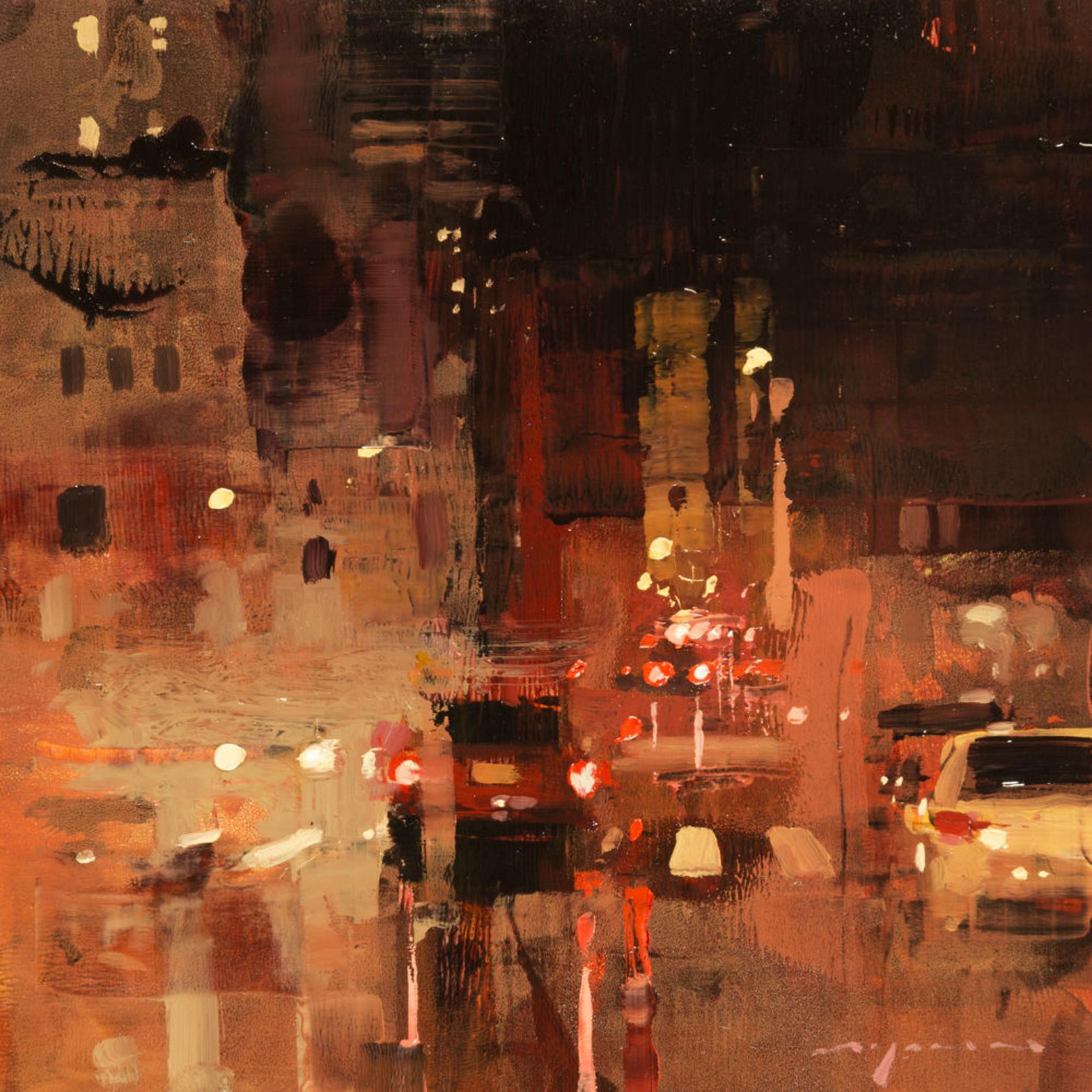 Cityscape  - Composed Form Study no. 19 by Jeremy Mann