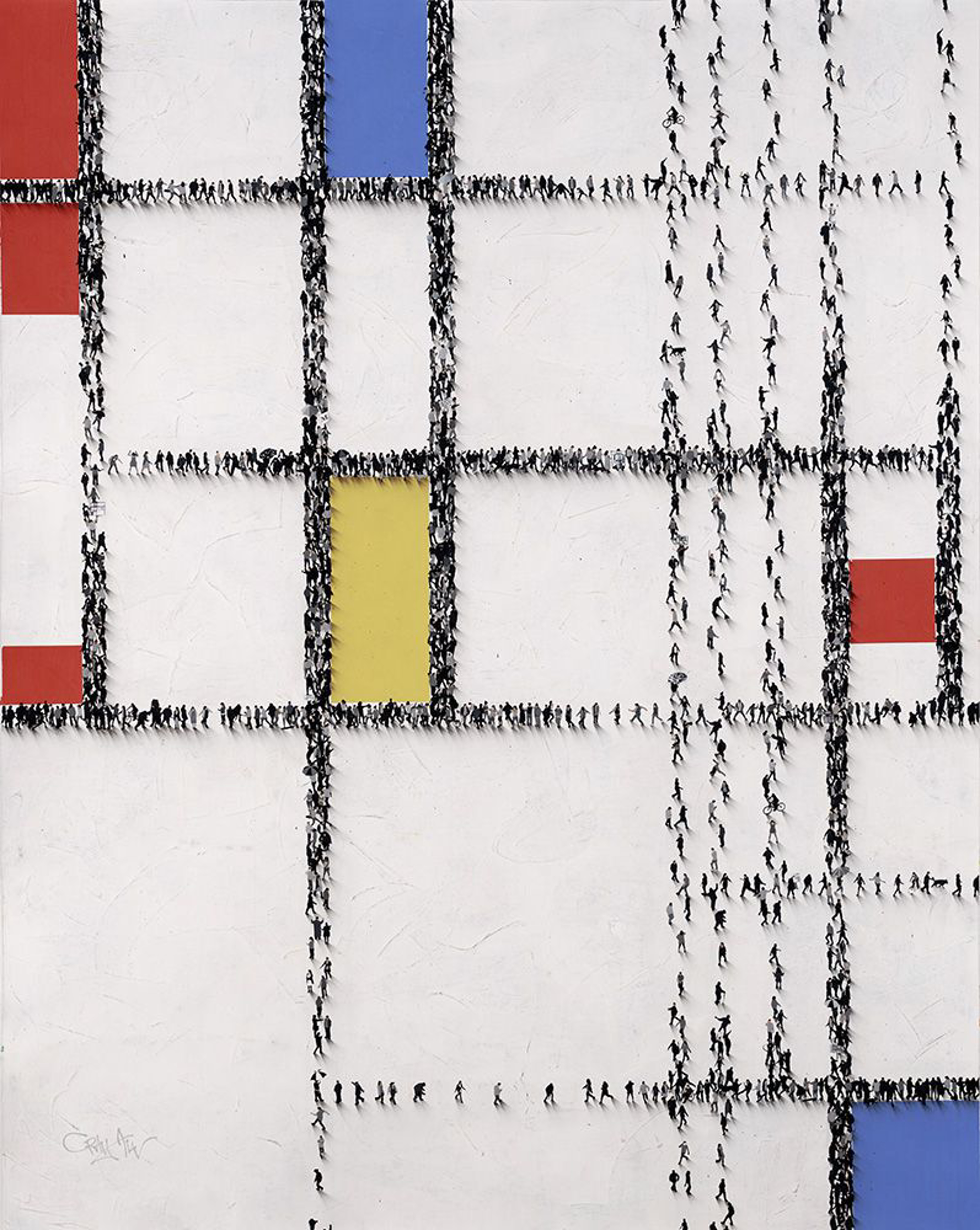 Gridlock (Sold) by Craig Alan, Populus Homage