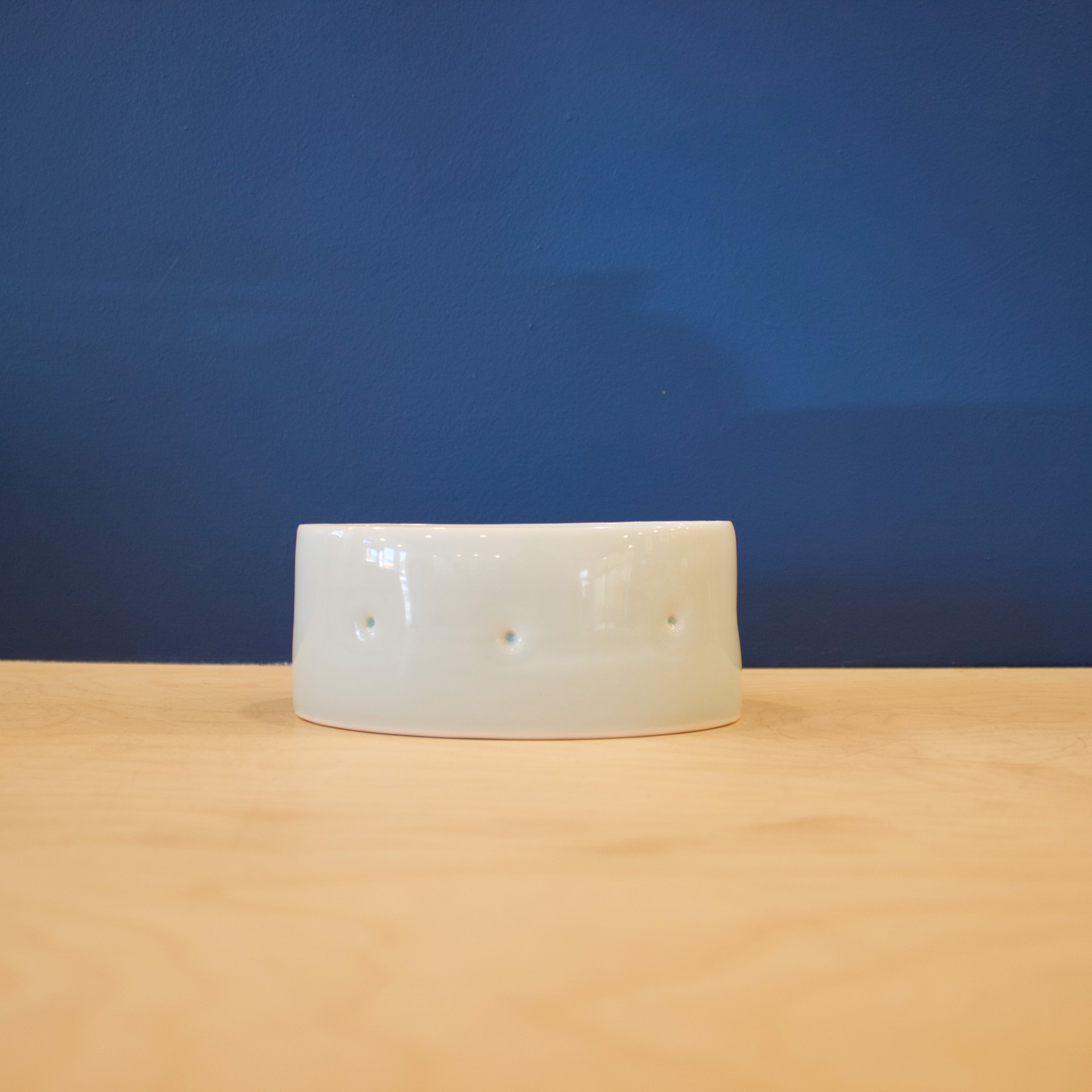Celadon Bump Oval Tray by Patricia Thom