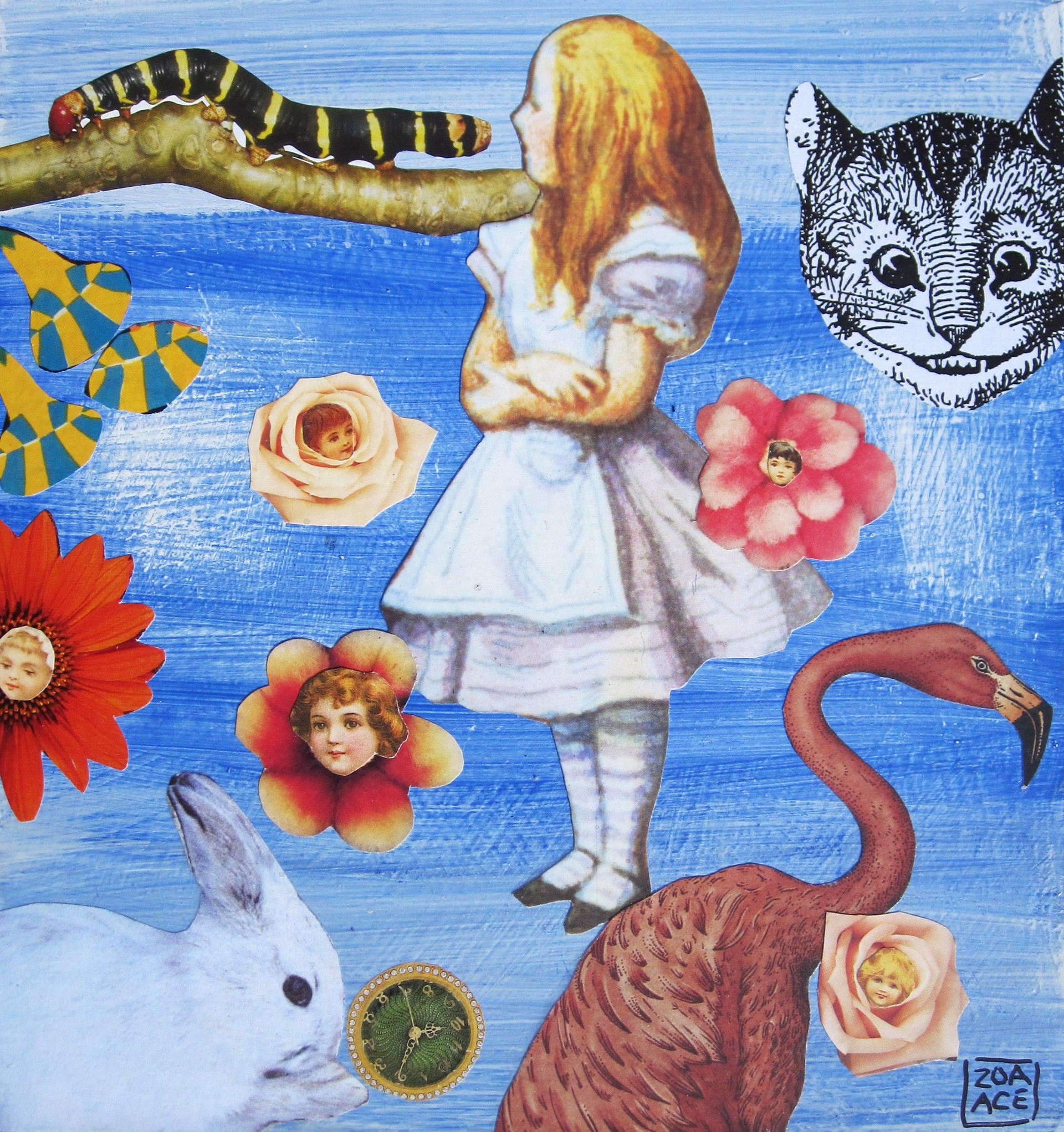 Alice and the Caterpillar by Zoa Ace