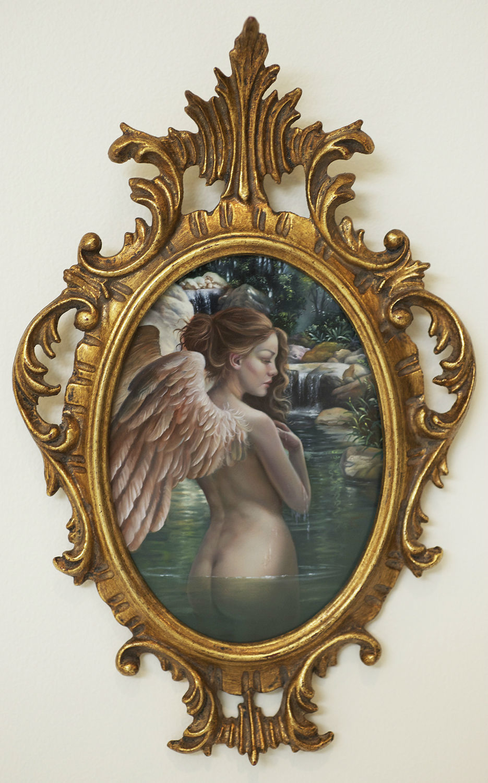 Bathing Angel by David Michael Bowers