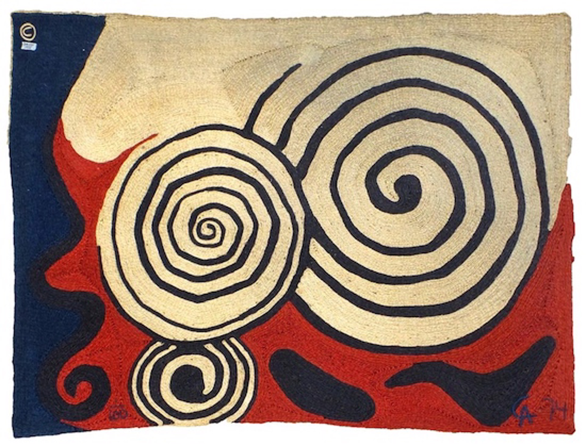 Three Concentric Circles by Alexander Calder
