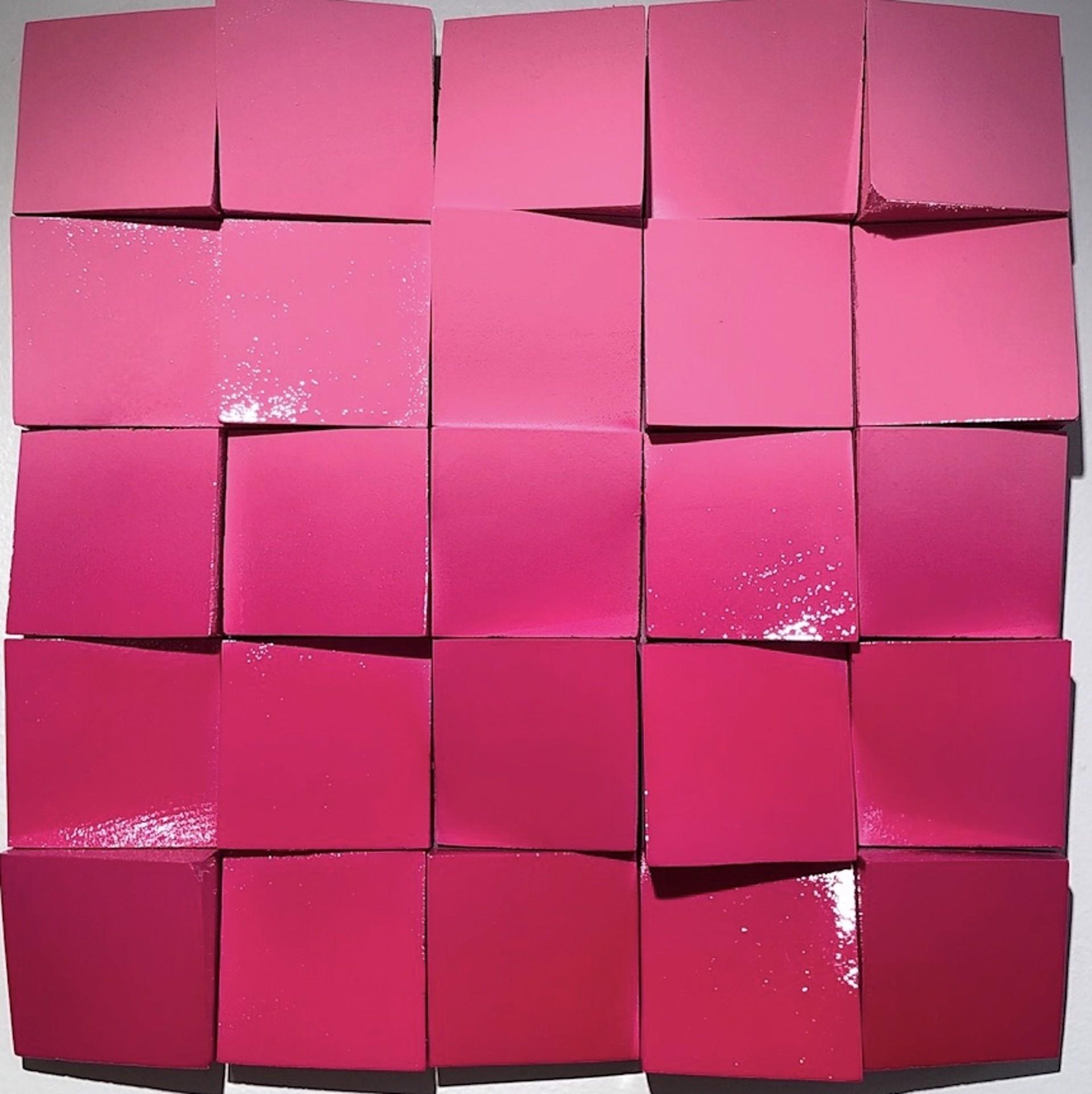 Neon Waves Hot Pink/Pink Ombre by Efi Mashiah