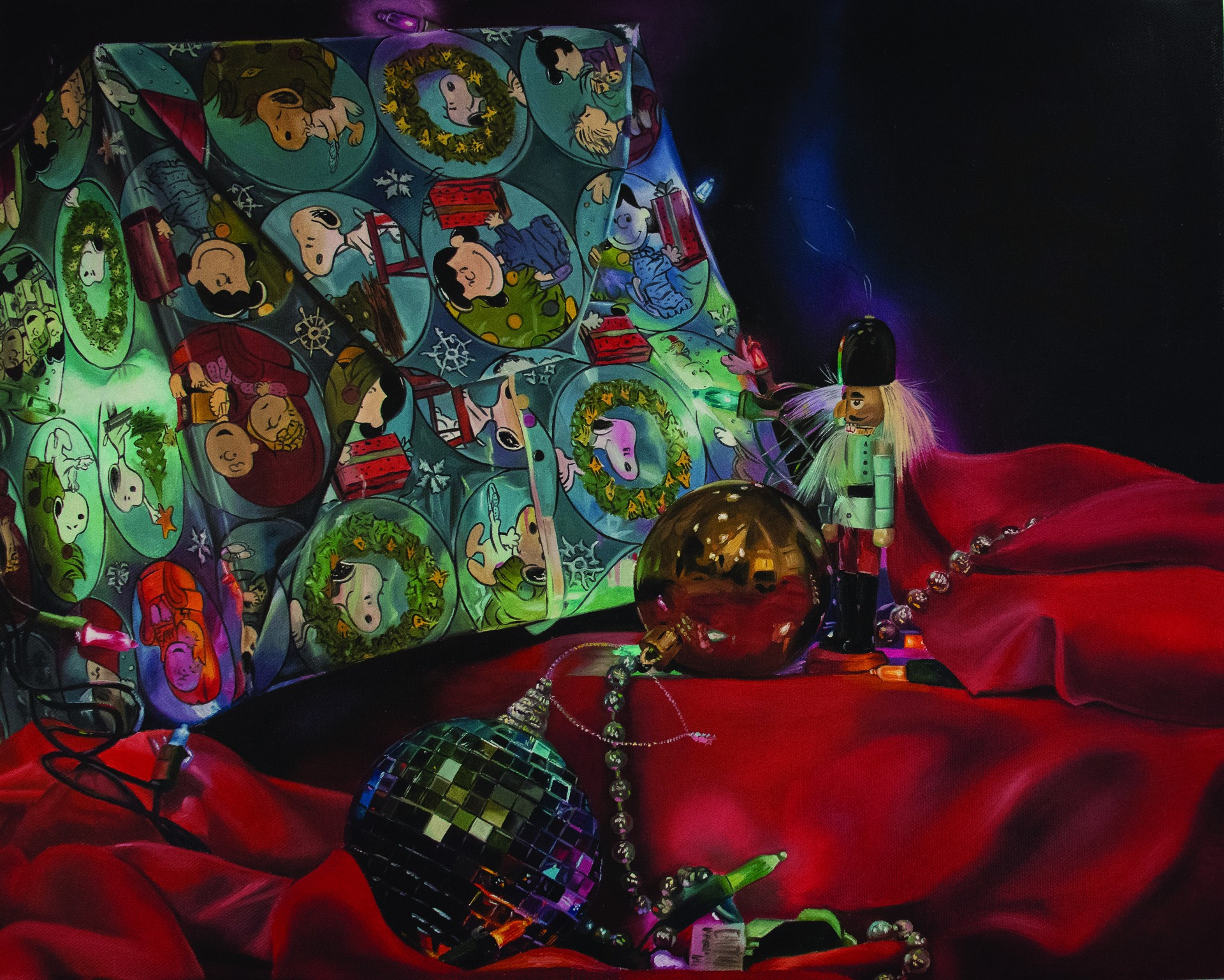 Reflections of Christmas by Daniela Velez