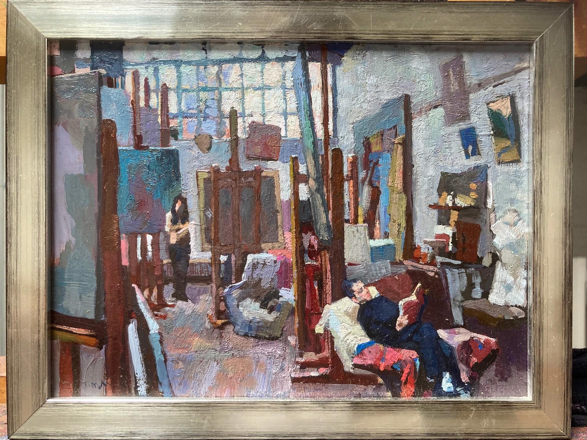 Break at the Studio by Timur Akhriev