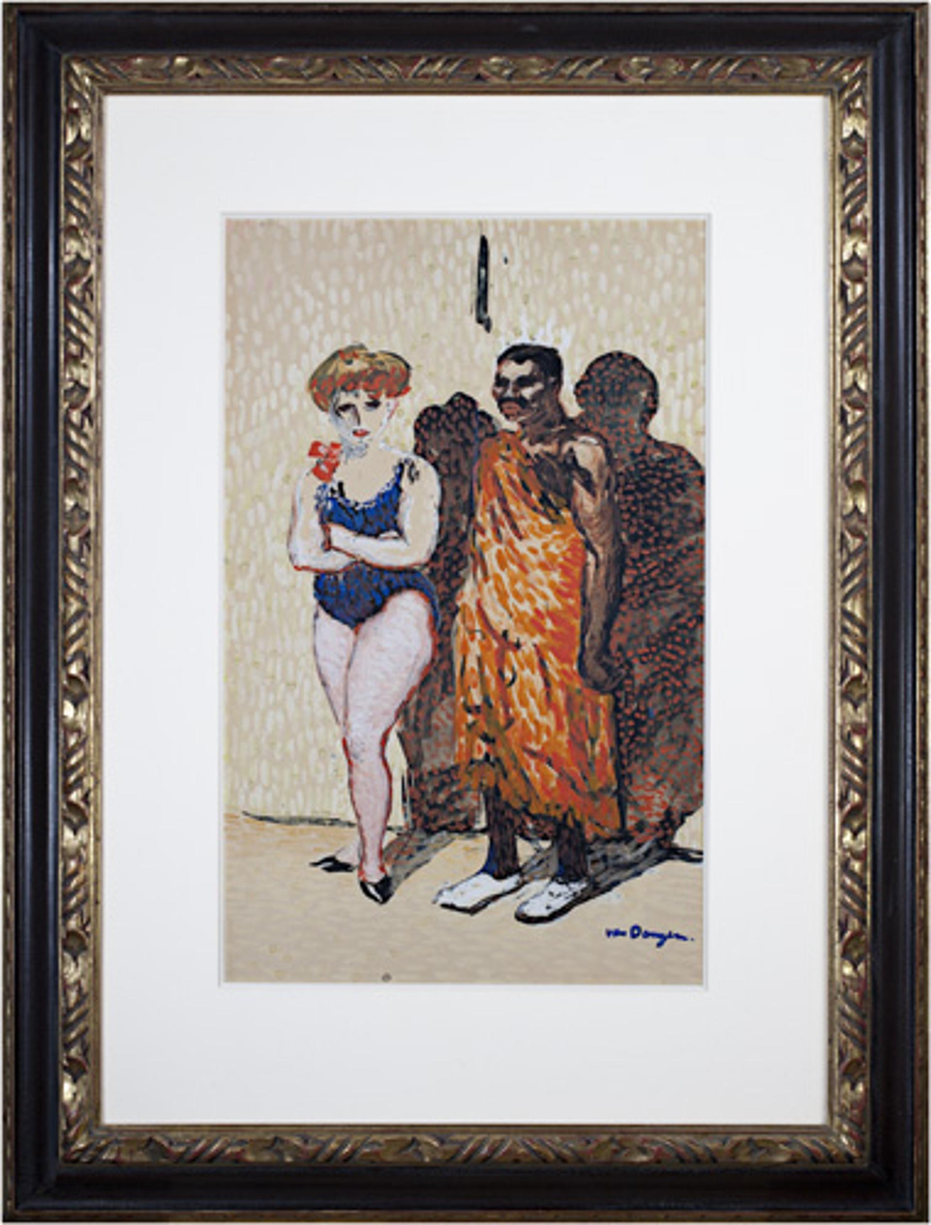 Les Artistes du Cirque by Kees Van Dongen