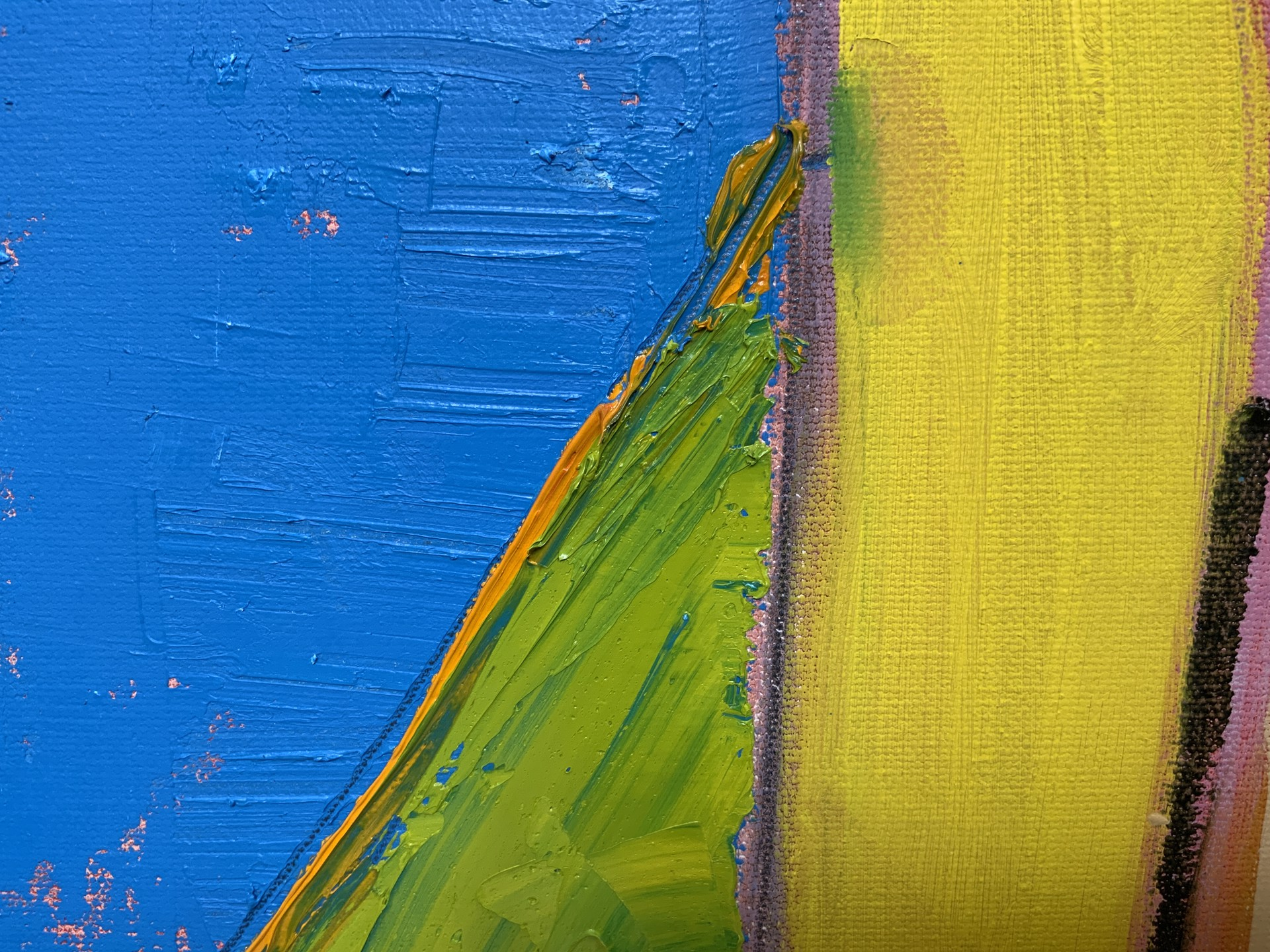 Abstract Landscape from the Air V by Steven Page Prewitt