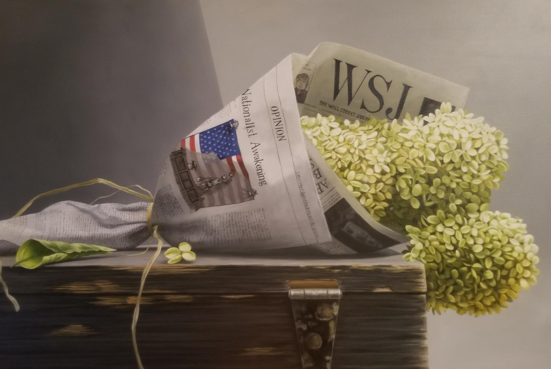 Hydrangea in Wall Street Journal by Loren DiBenedetto, OPA