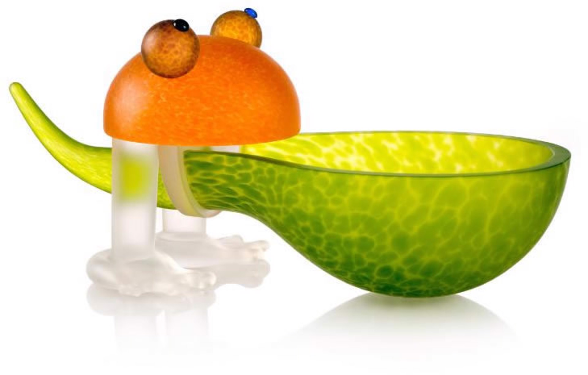 Frosch Bowl Lime Green 24-01-37 by Borowski