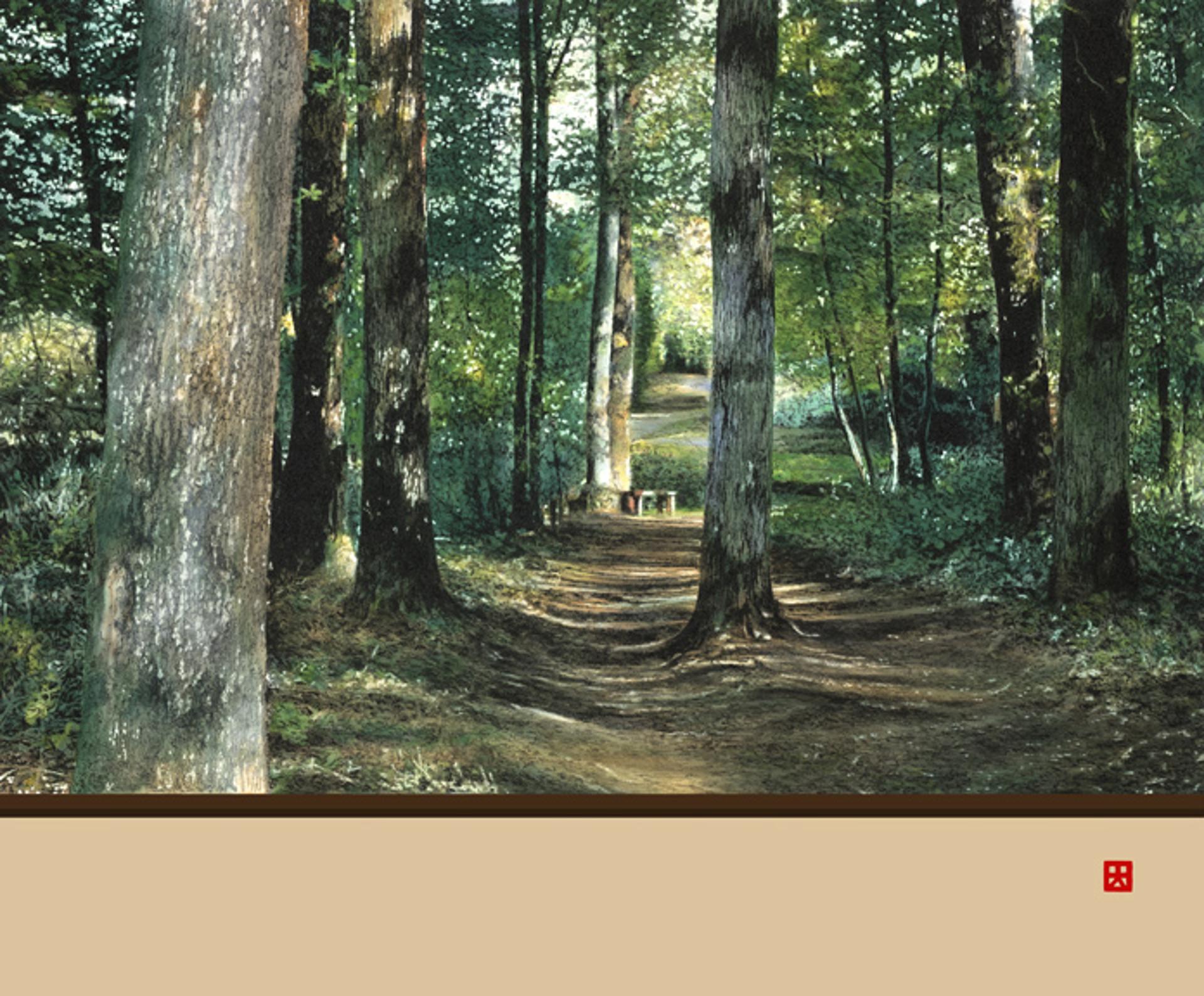 A Leisurely Walk in Mayenne by Hisashi Otsuka
