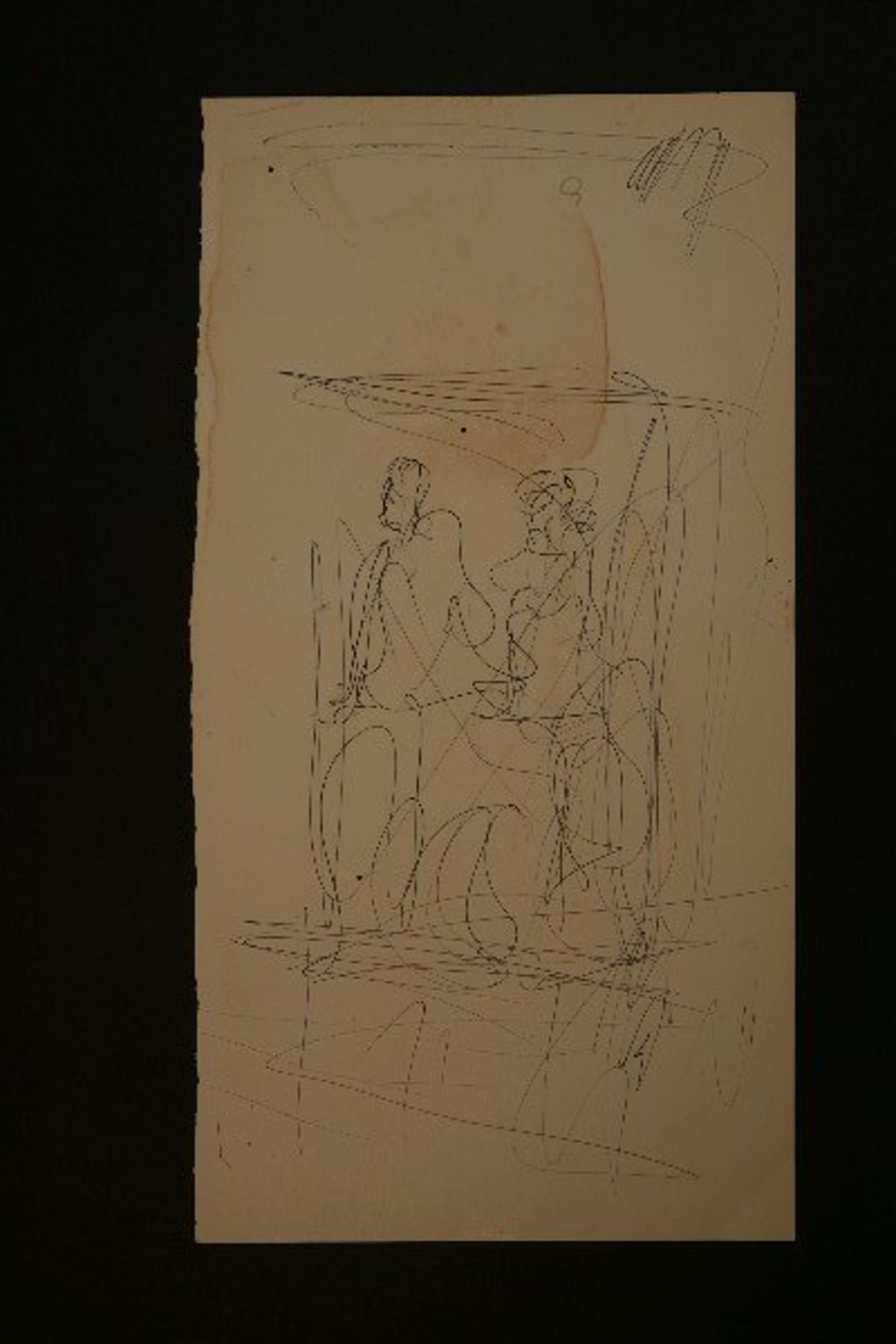 Drawing From the 1970's #10 by Purvis Young (1943 - 2010)