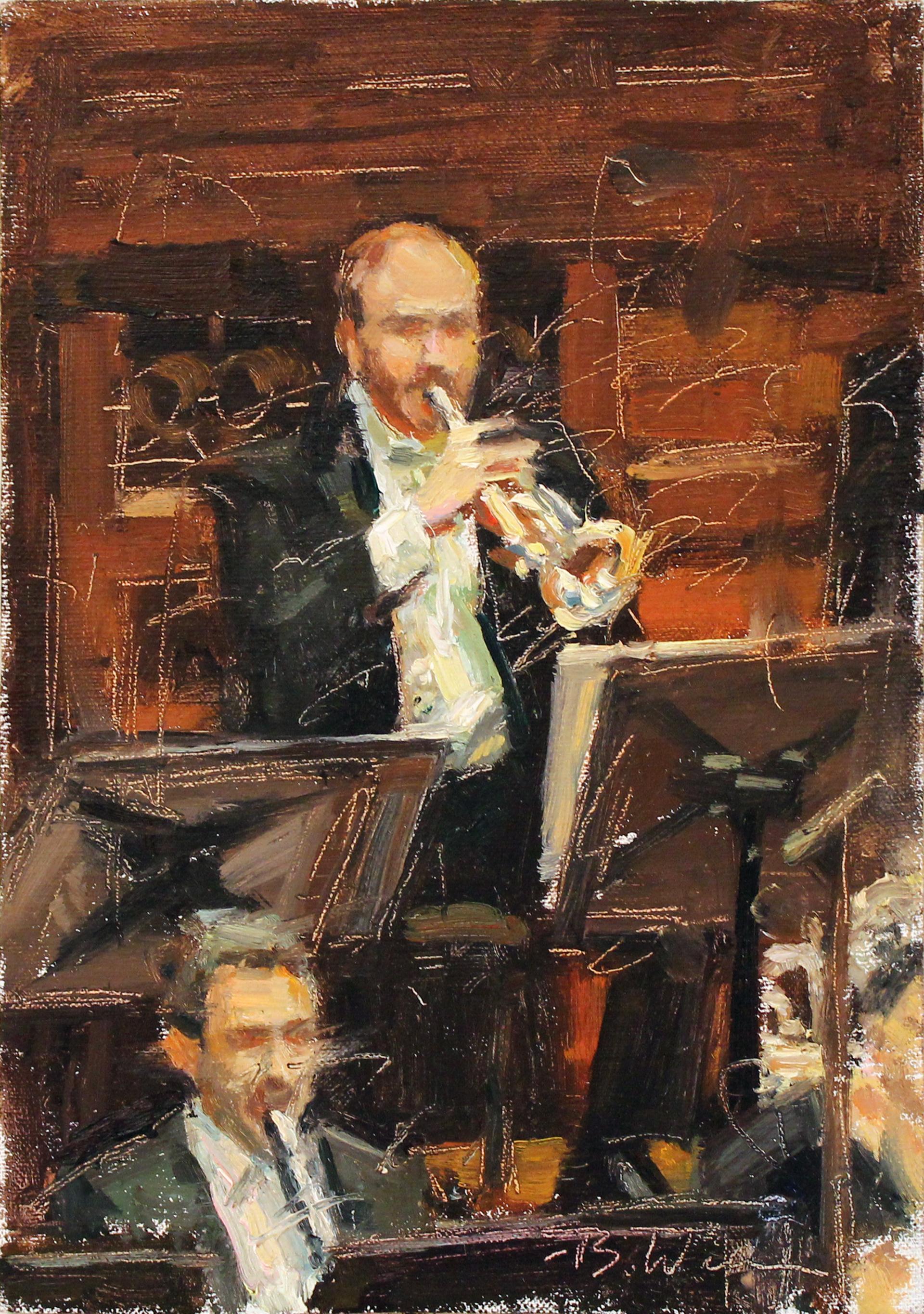 Trumpeter by Brett Weaver