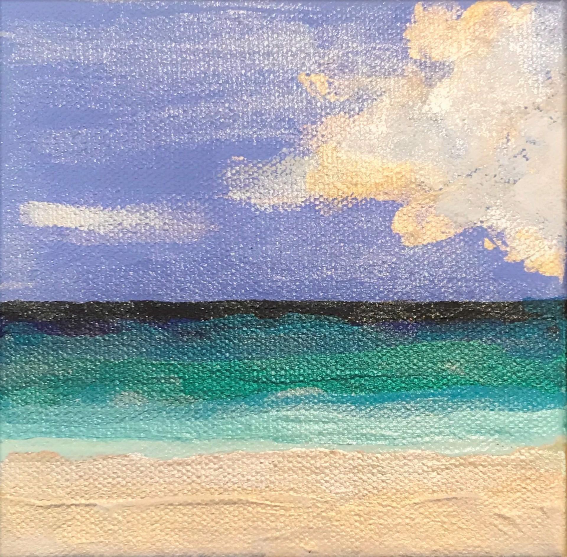 Beachfront No. 10 by Leslie Poteet Busker