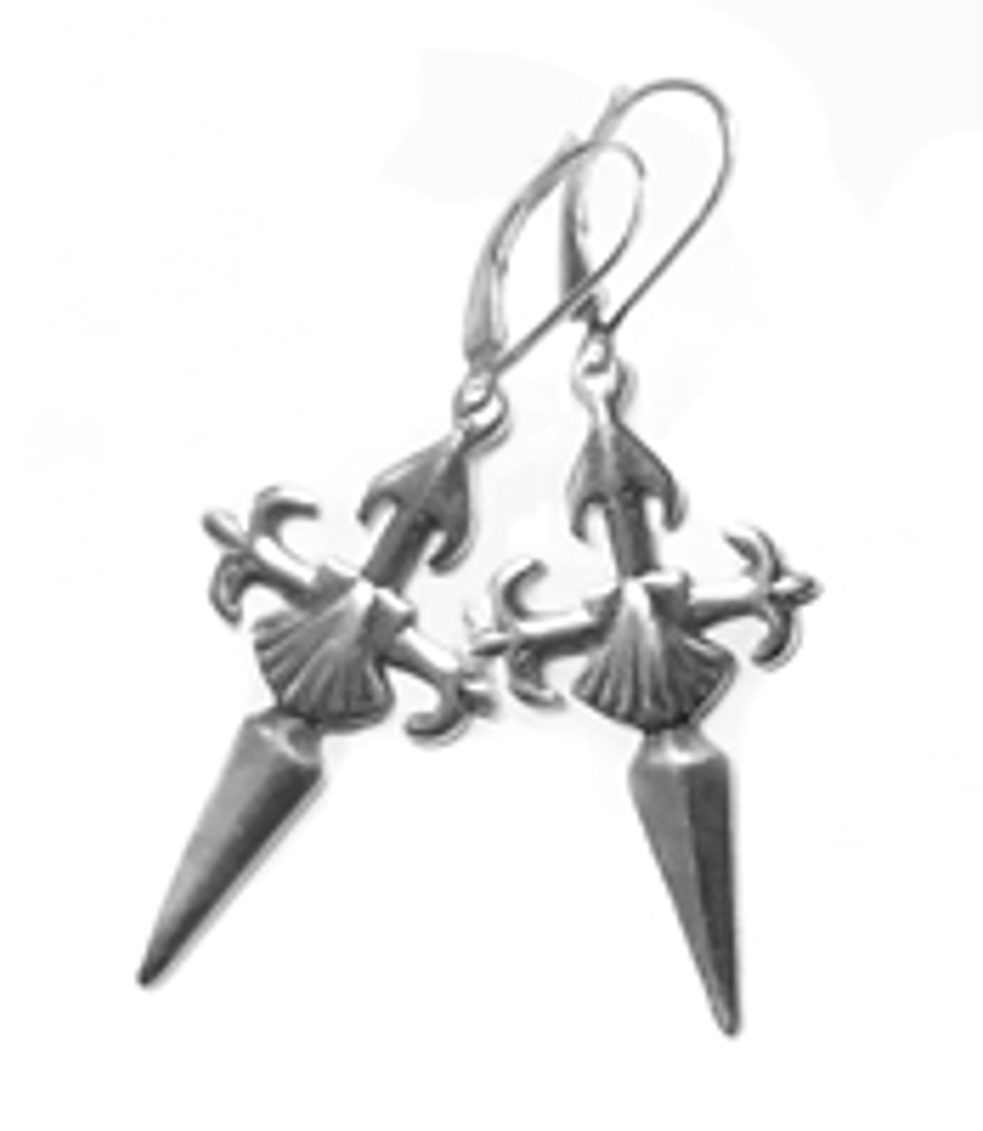 Earrings - Santiago Cross - 8275 by Deanne McKeown