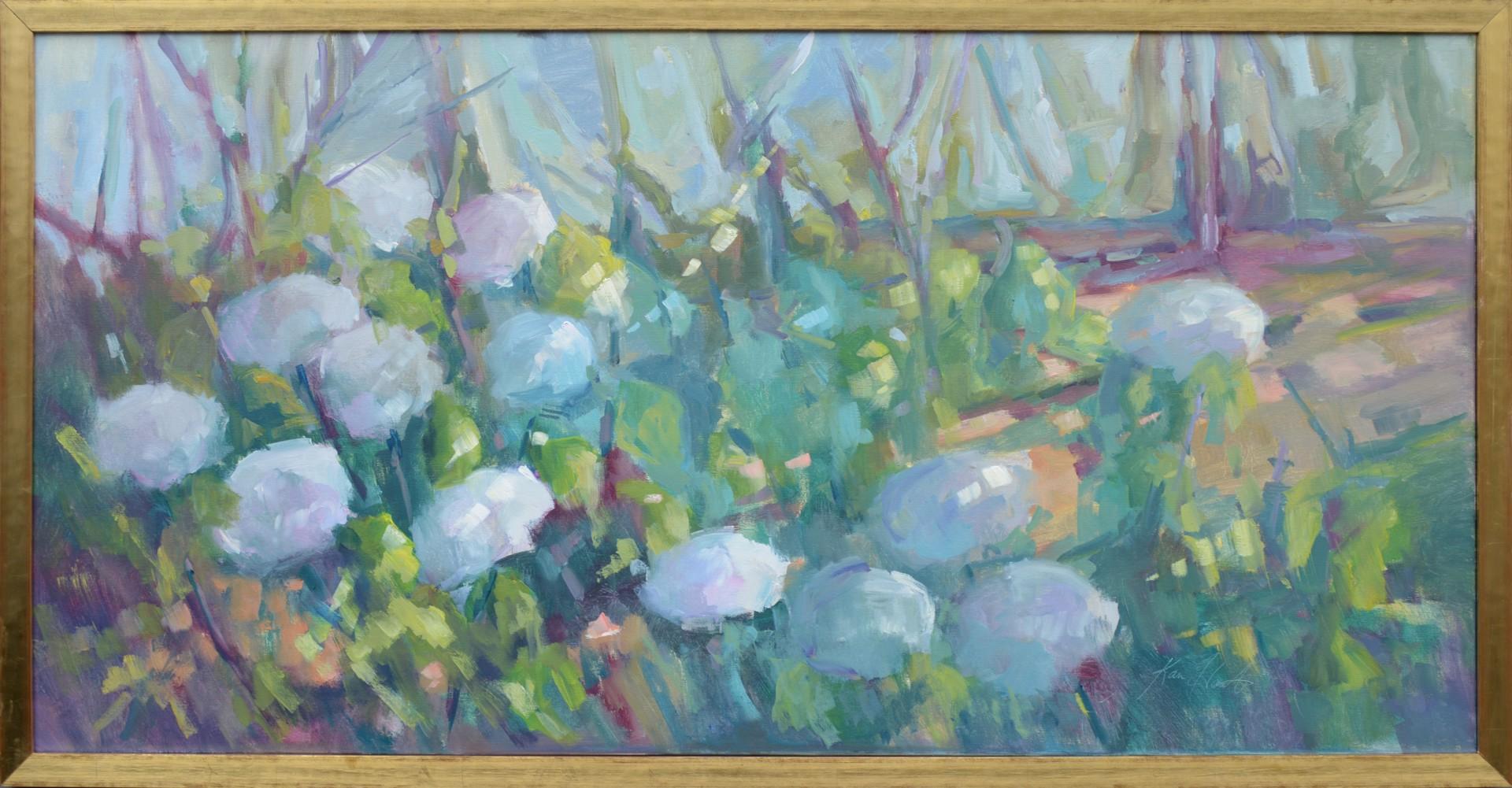 Hydrangeas in the Daylight by Karen Hewitt Hagan
