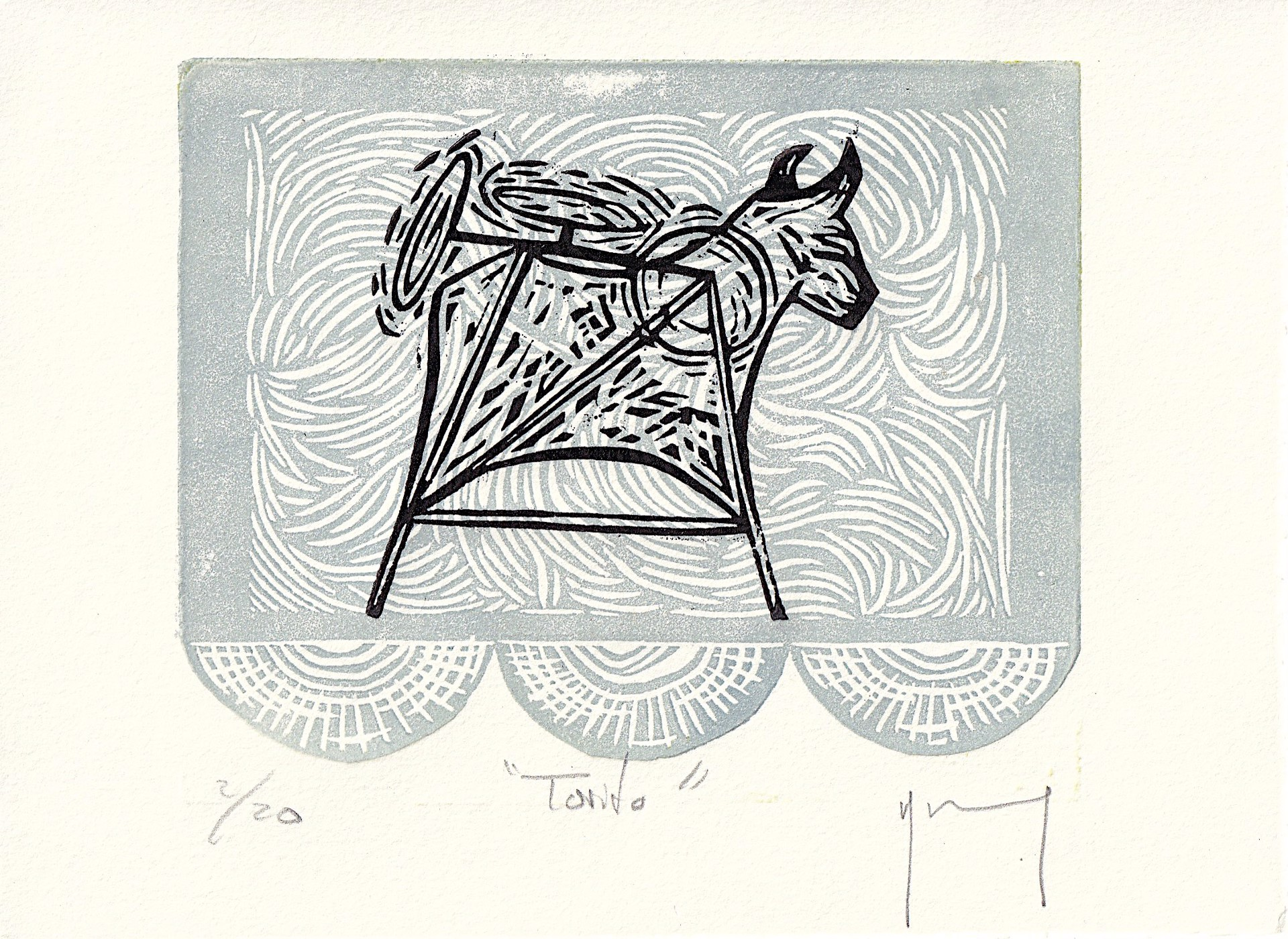 Serie Oaxaca (Torito) by Miguel Jimenez Martinez
