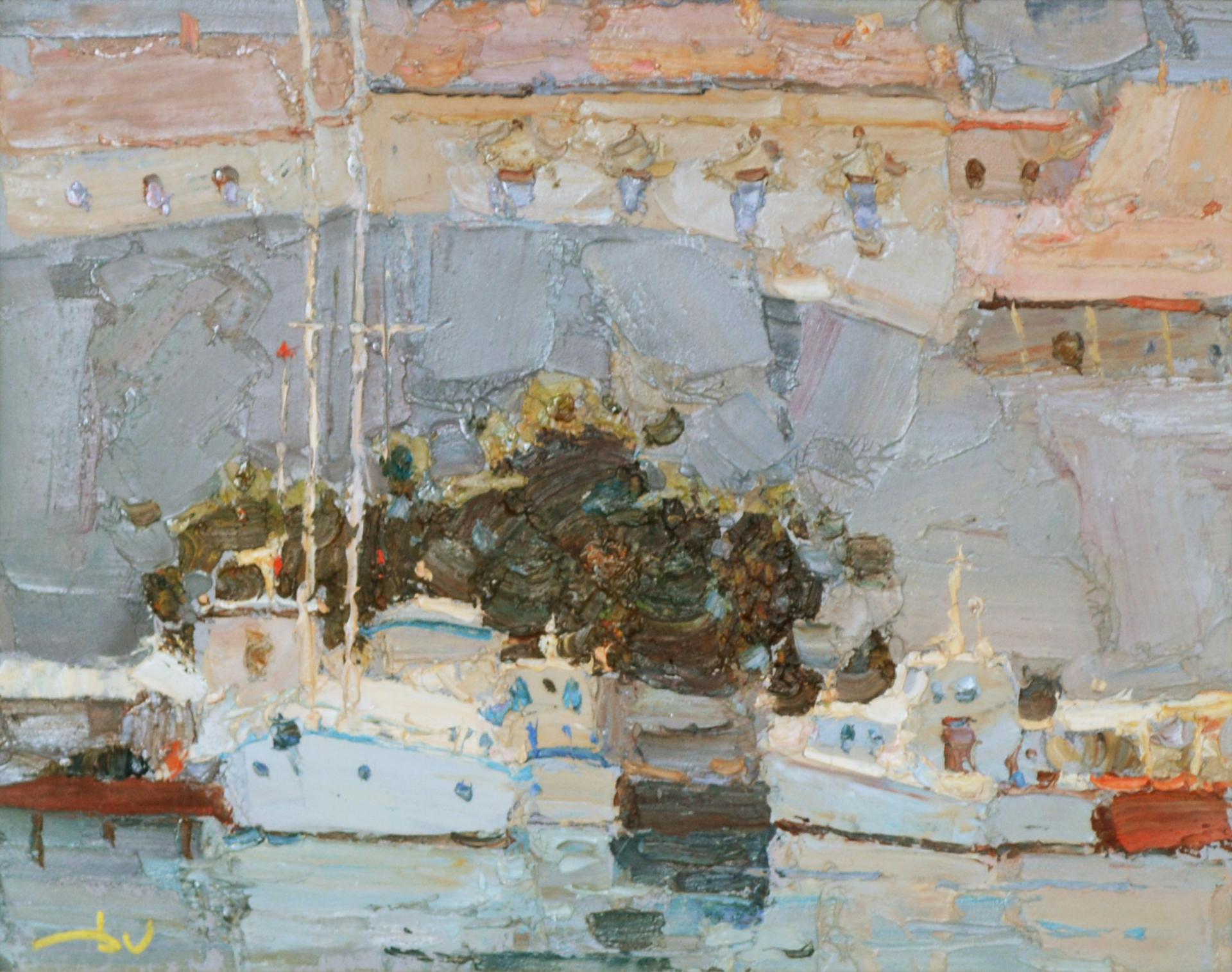 Harbor in Dubrovnik by Daniil Volkov