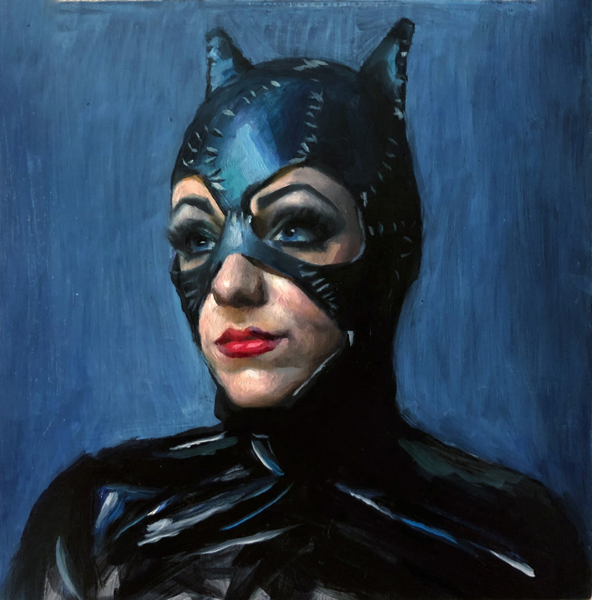 Study of Catwoman by Marshall Jones