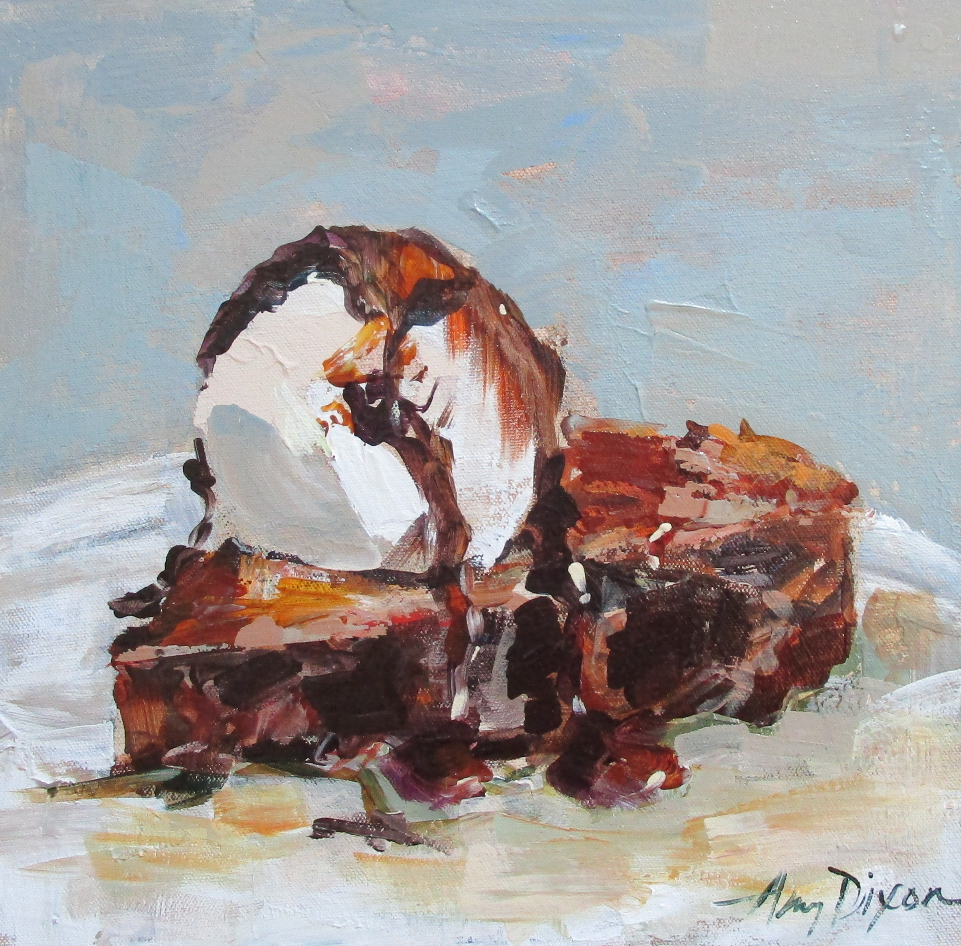 Mom's Fudge Pie by Amy Dixon