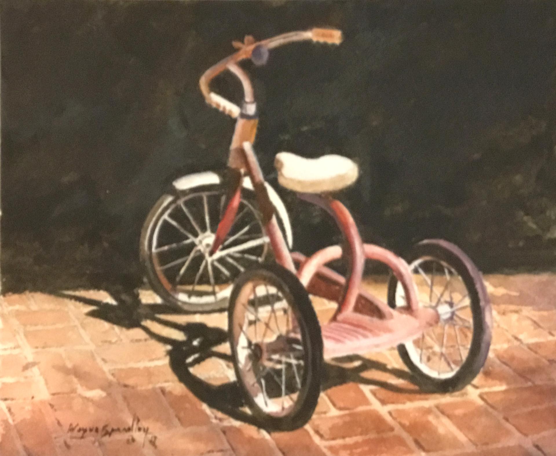 First Set of Wheels by Wayne Spradley