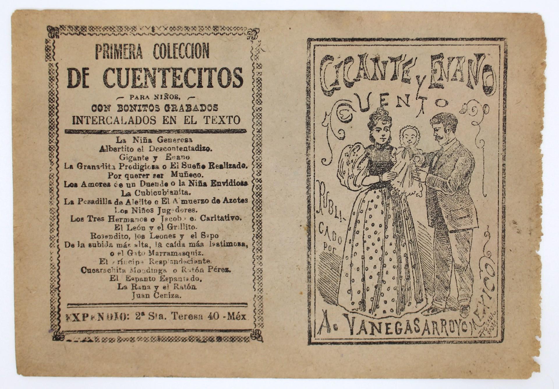 Gigante y Enano by José Guadalupe Posada (1852 - 1913)