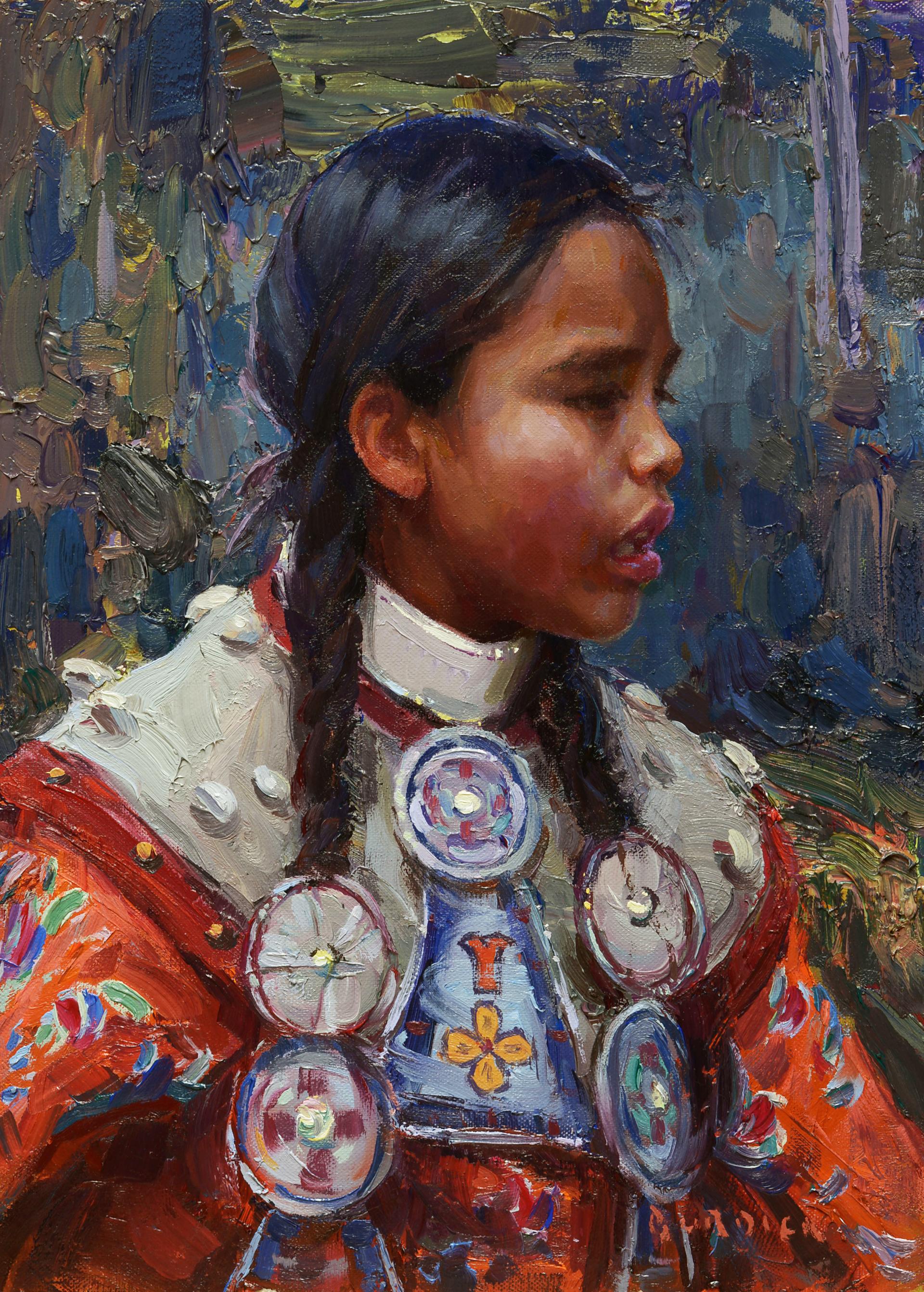 Native Profile by Scott Burdick