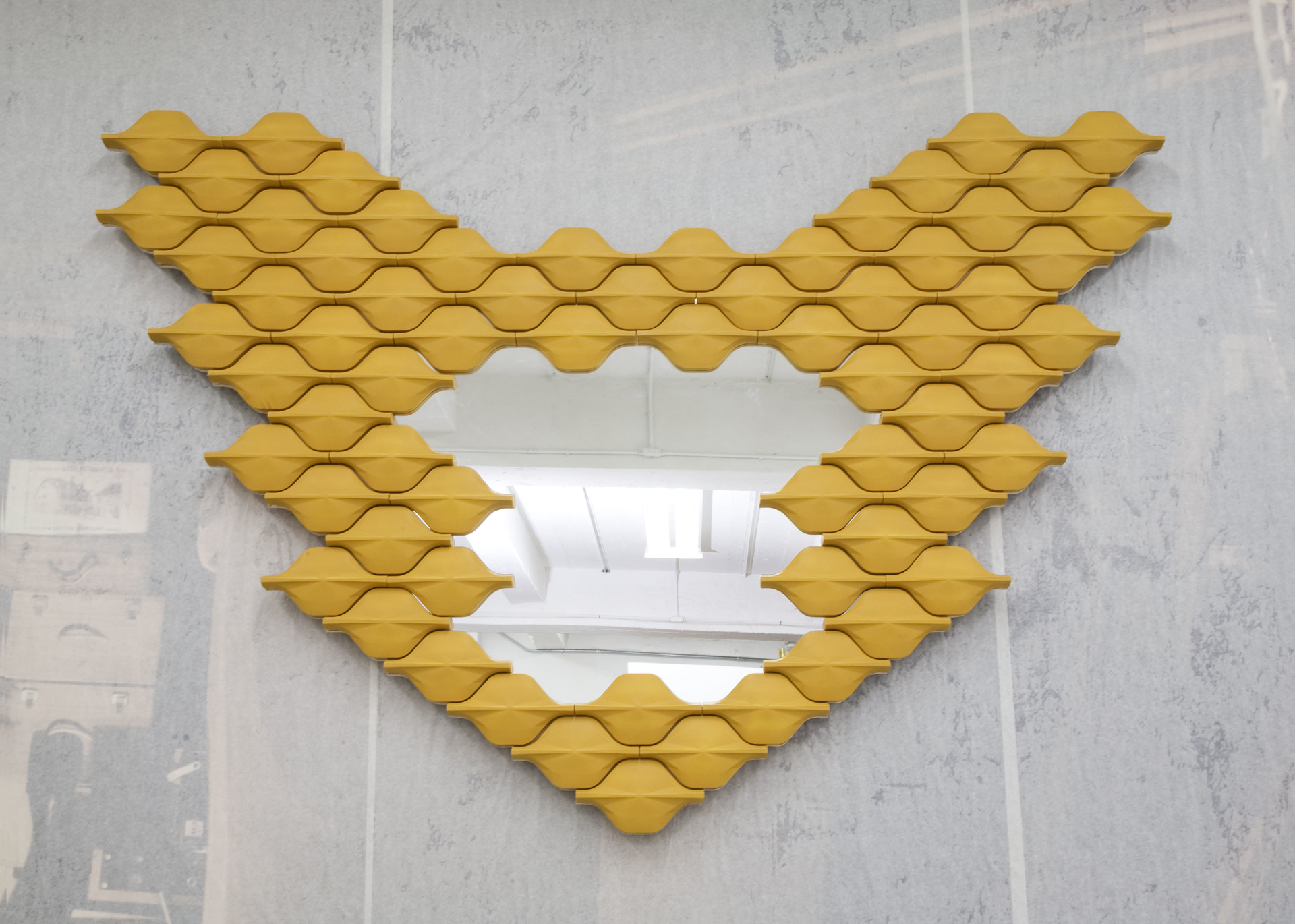 """Butterfly"" Mirror by Adrien de Melo"