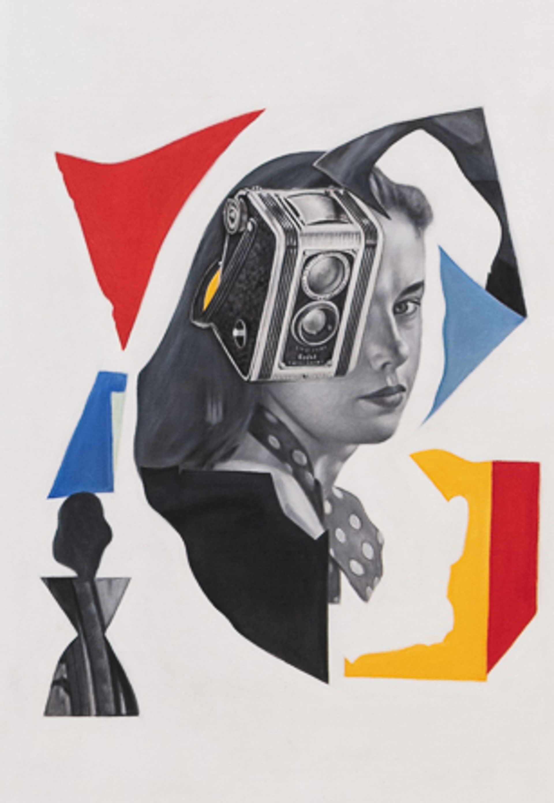 Untitled (Woman with Camera/Dafen 1, EU) by Mario Zoots