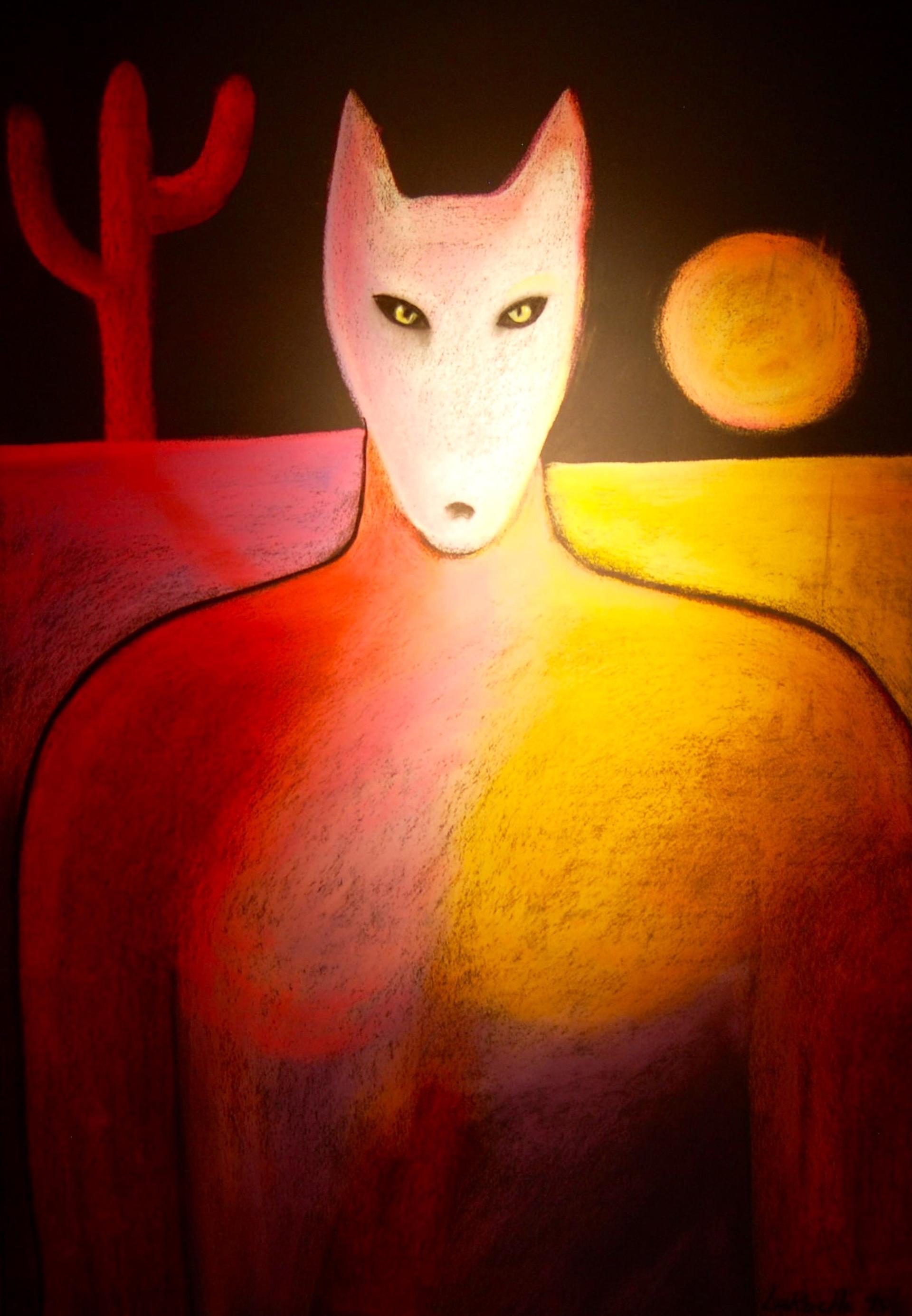 Desert Protector - Unframed by Carole LaRoche