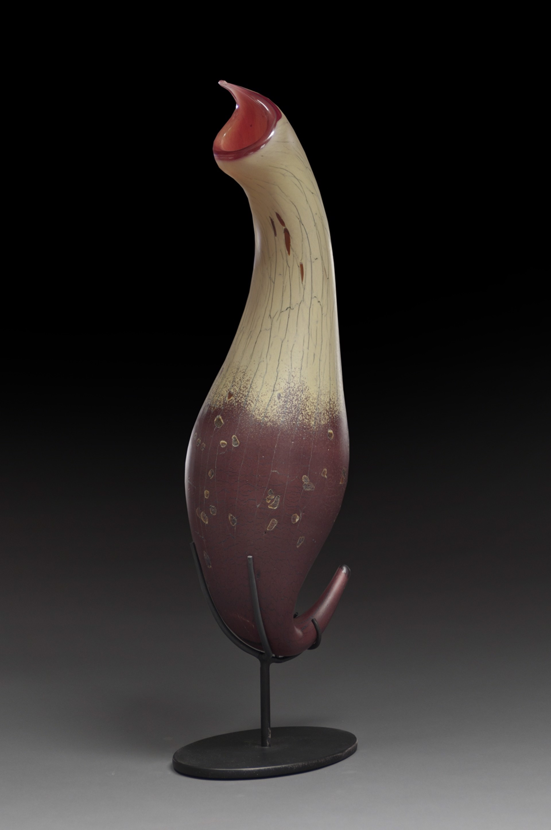 Tobacco Ruby Pitcher by Peter Wright