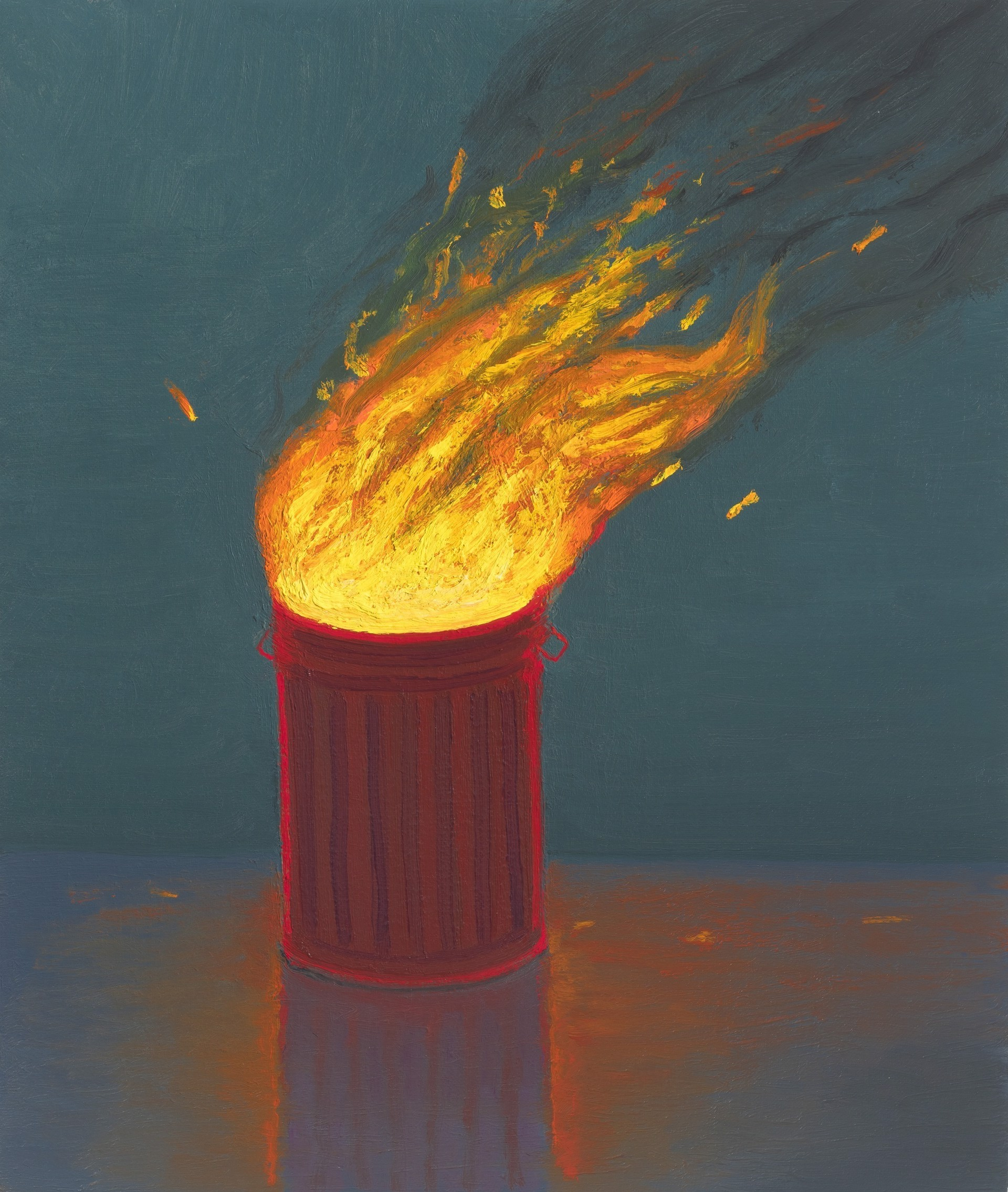 Trashfire II by Vonn Cummings Sumner