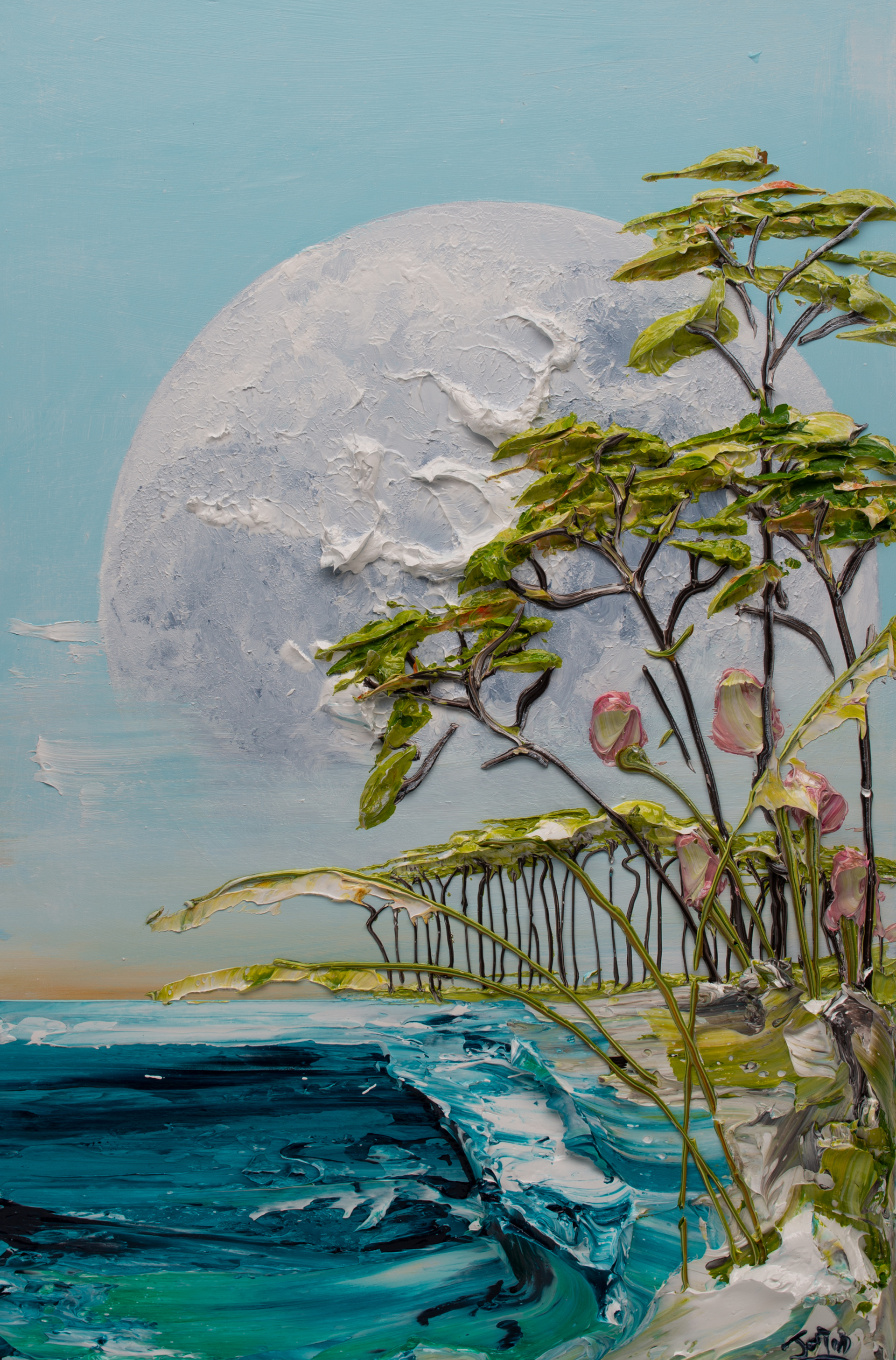 MOONSCAPE-MS-24X36-2019-238 by JUSTIN GAFFREY