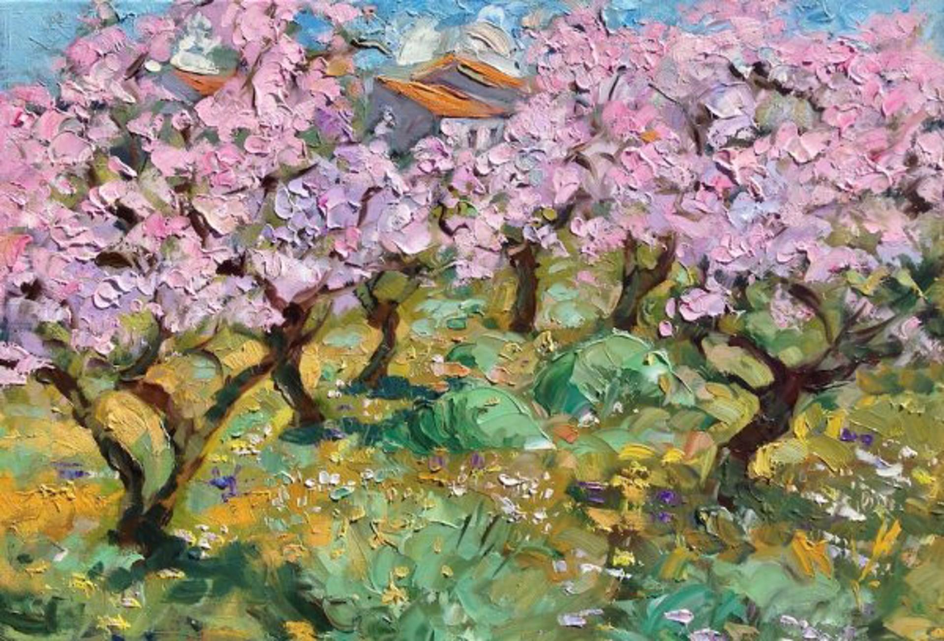 Spanish Almond Trees by Maria Bertrán