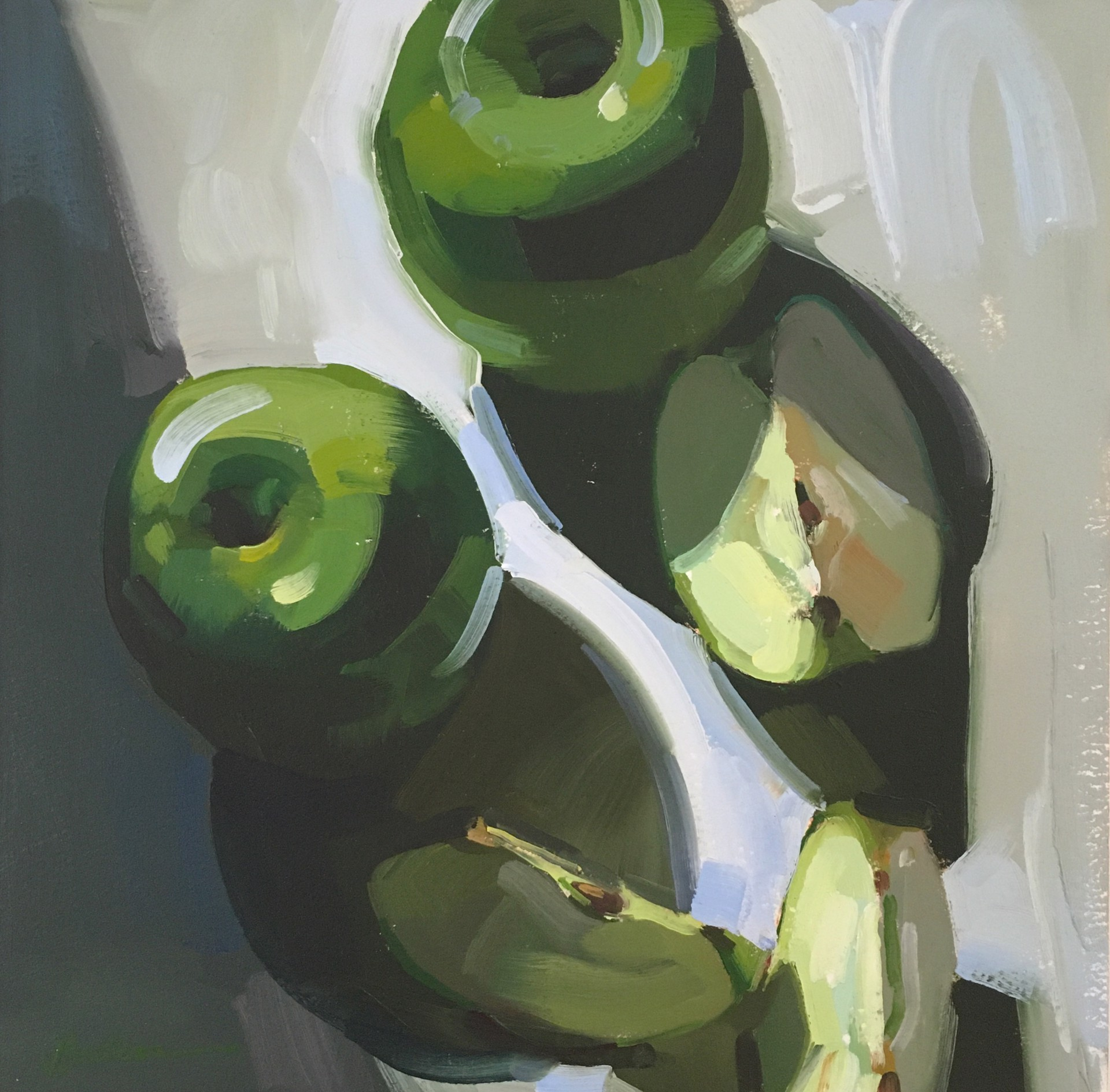 Apples in Shadows by Samantha Buller