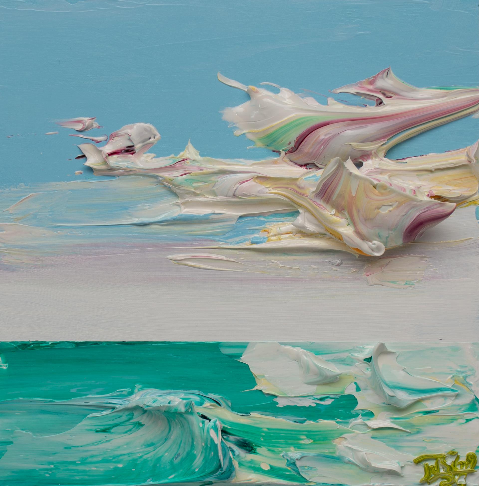 SEASCAPE SS-12x12-2020-056 by JUSTIN GAFFREY