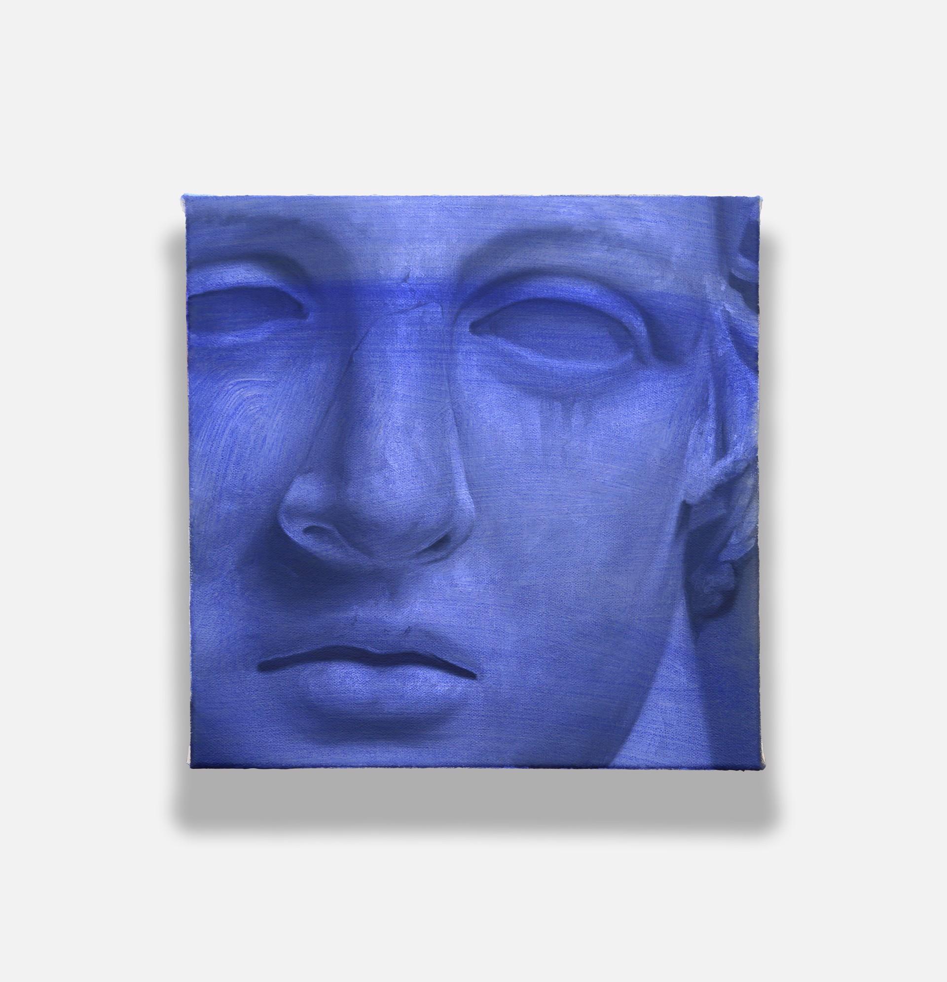 (Study In Blue) by Shawn Huckins