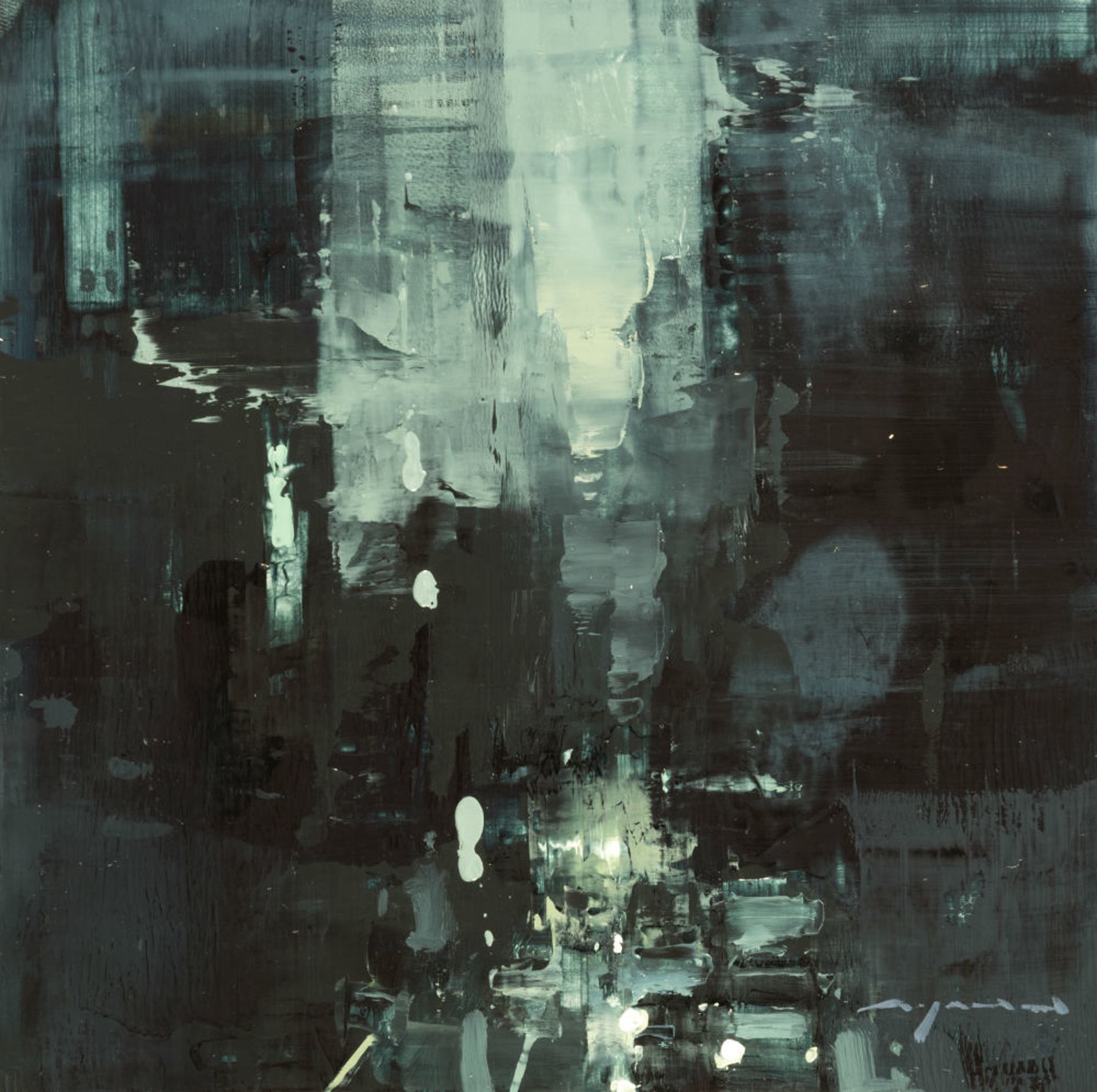 Cityscape - Composed Form Study no. 24 by Jeremy Mann