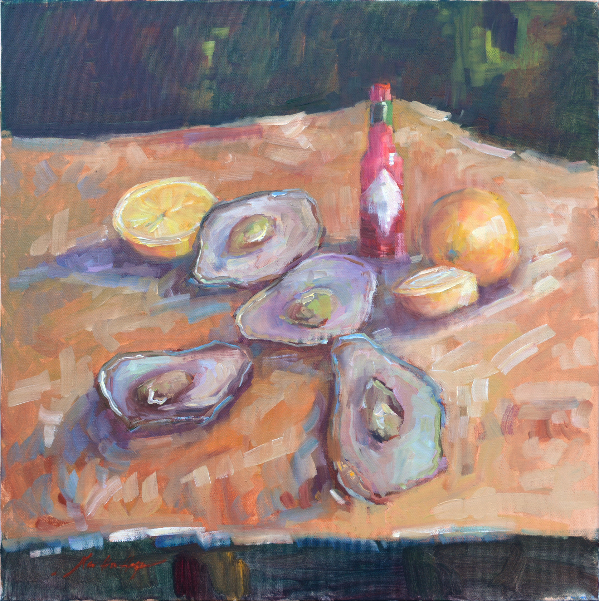 Oysters, Lemons & Hot Sauce by Karen Hewitt Hagan