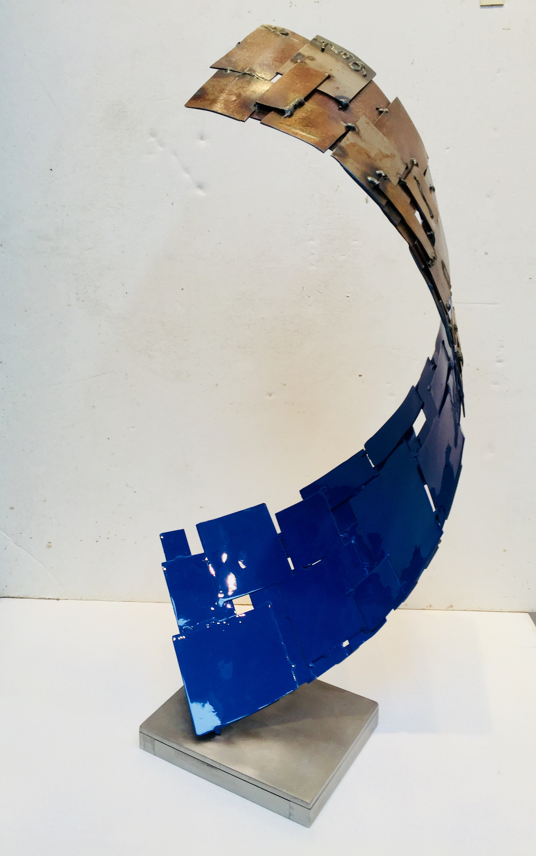 Blue Curl by Dennis Leri