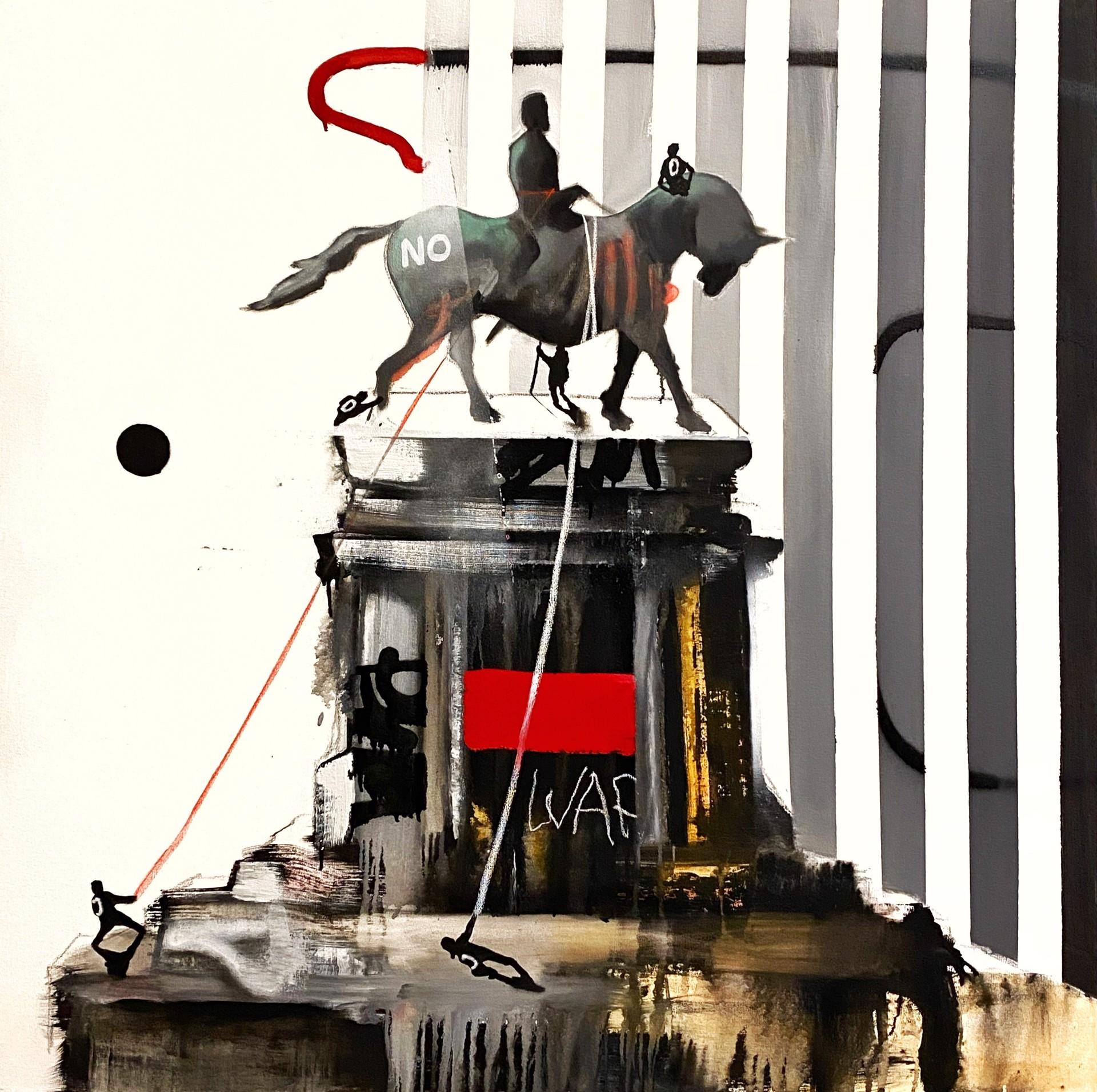 Monument Wars #6 by Marcus Jansen (b. 1968)