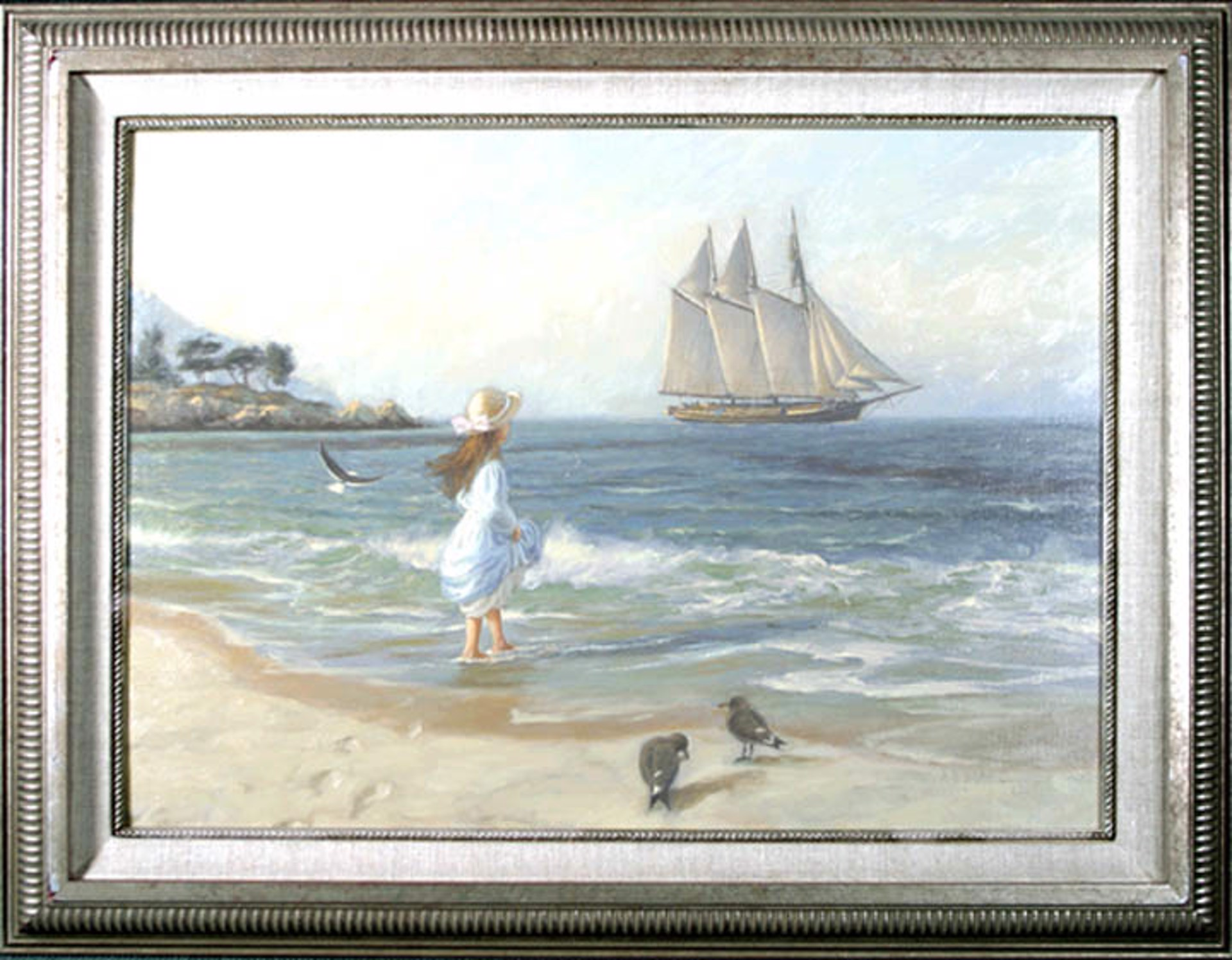 Looking Out to Sea by A.D. (Tony) Blake