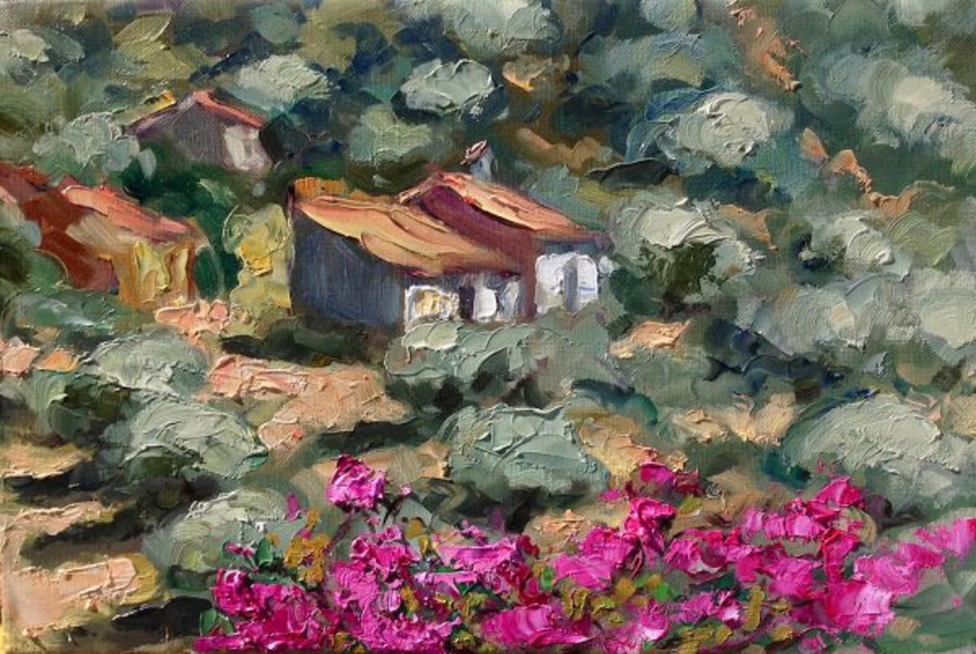 Andalucia Bougainvillea by Maria Bertrán