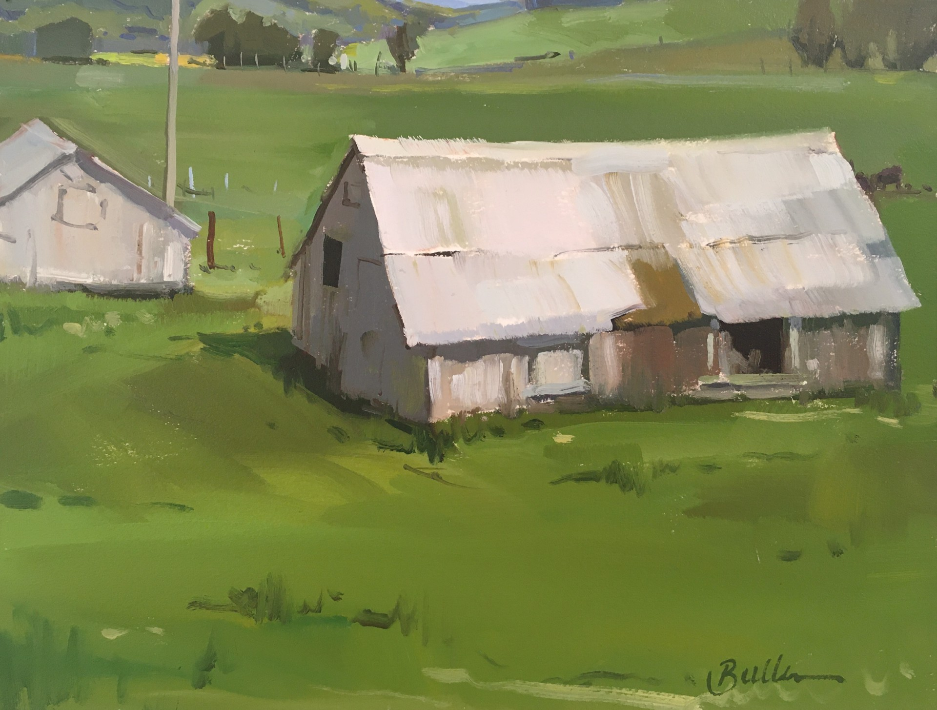 Old Chicken Barn by Samantha Buller