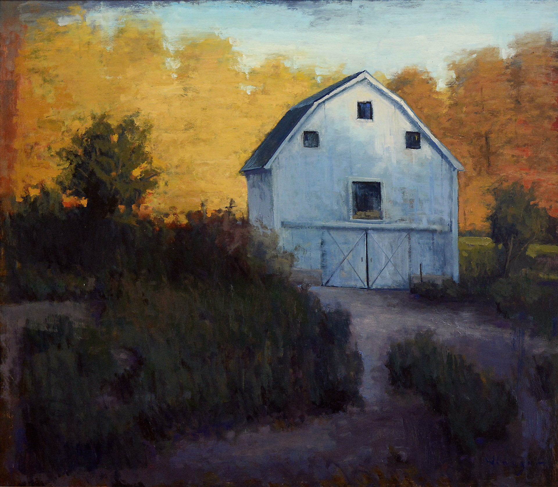 Autumn Rise by Seth Winegar