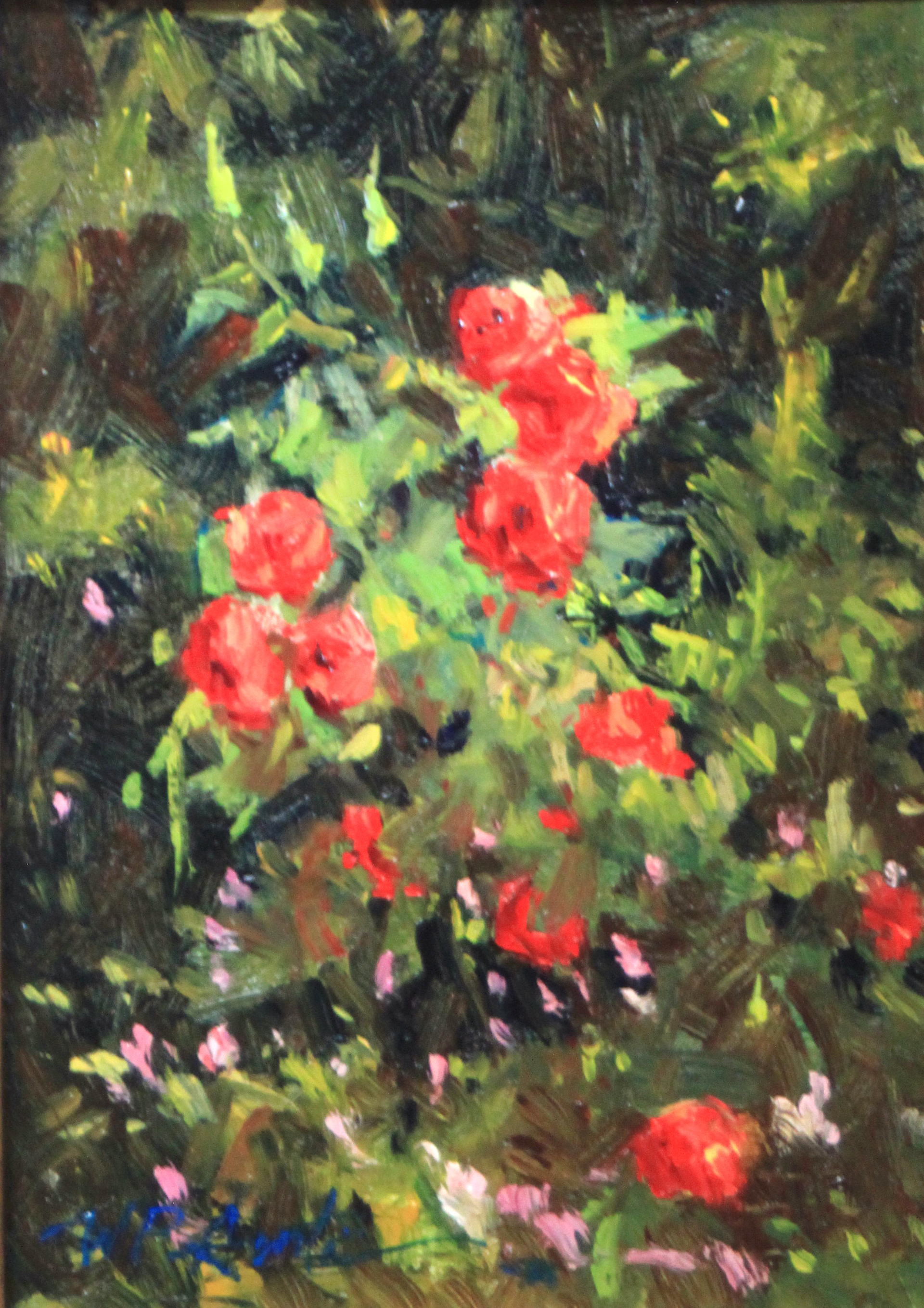 Cottage Roses by Perry Austin